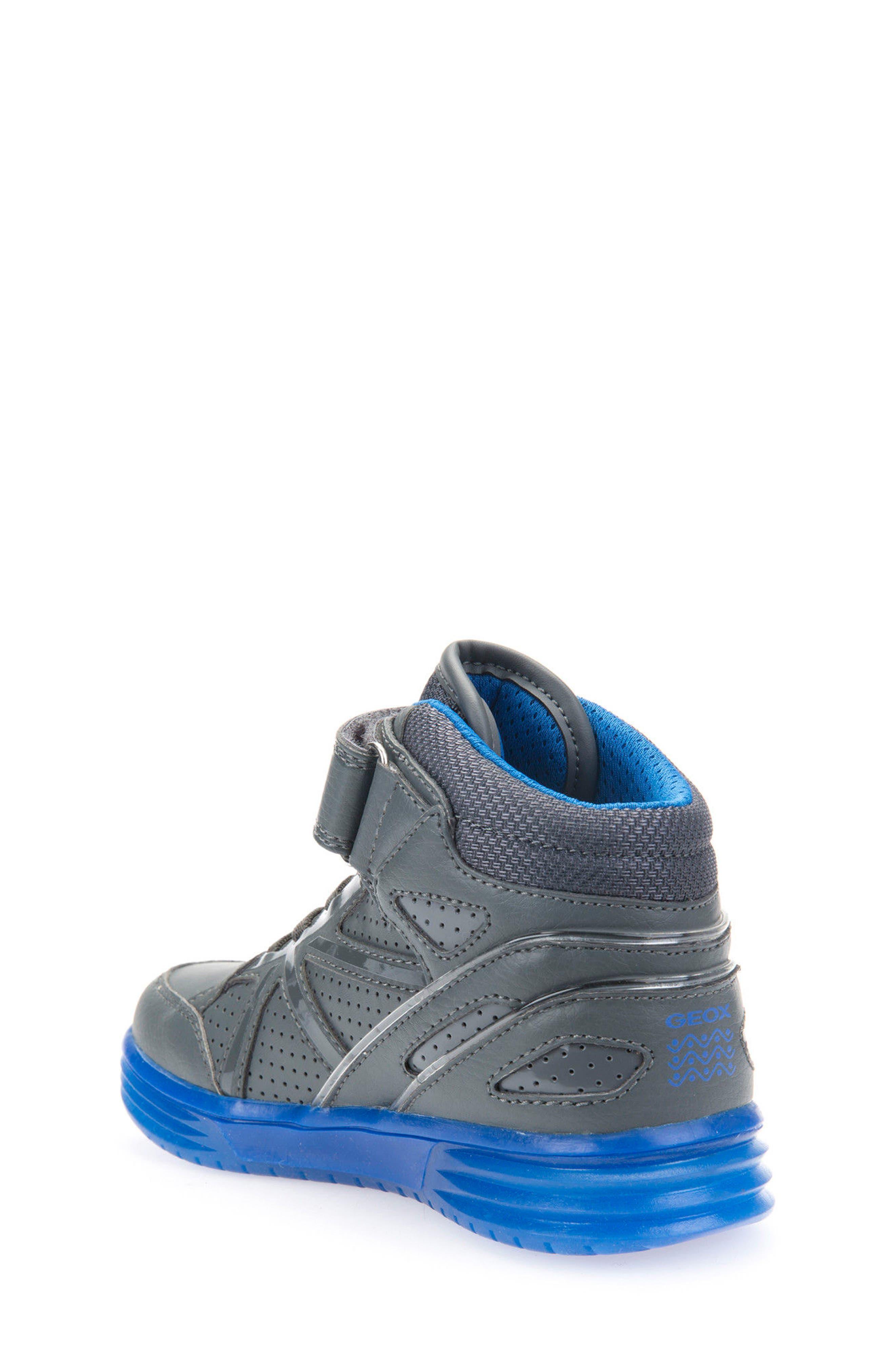 Argonat High Top Sneaker,                             Alternate thumbnail 2, color,                             Dark Grey/ Royal