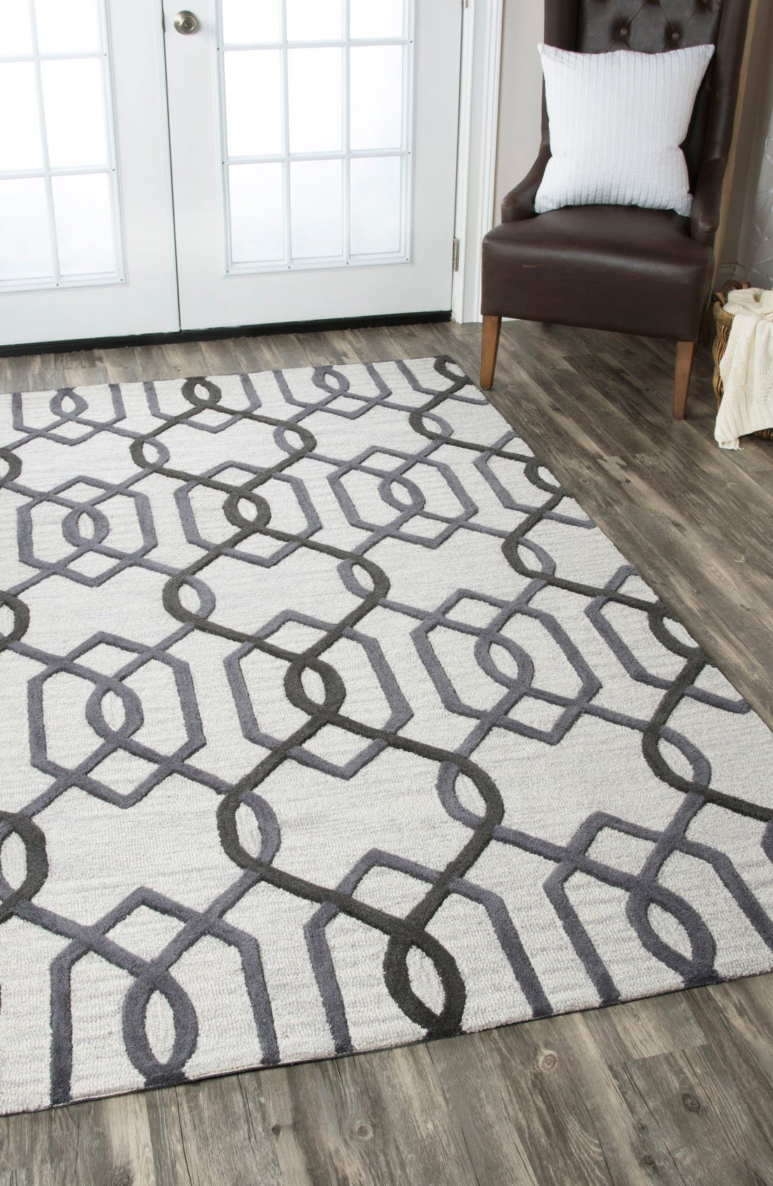 Alternate Image 5  - Rizzy Home 'Caterine Lines' Hand Tufted Wool Area Rug