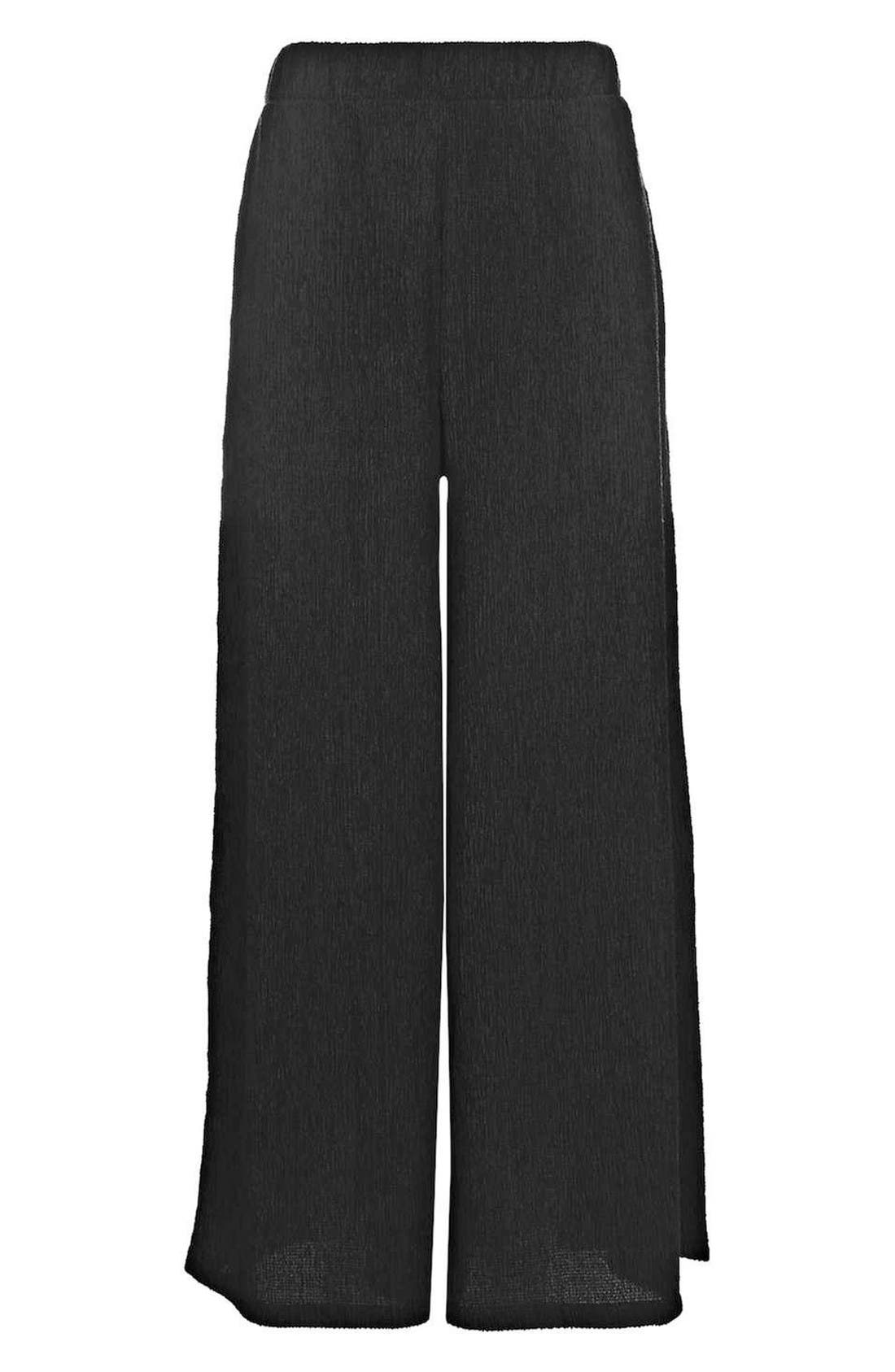 Alternate Image 4  - Topshop Wide Leg Trousers