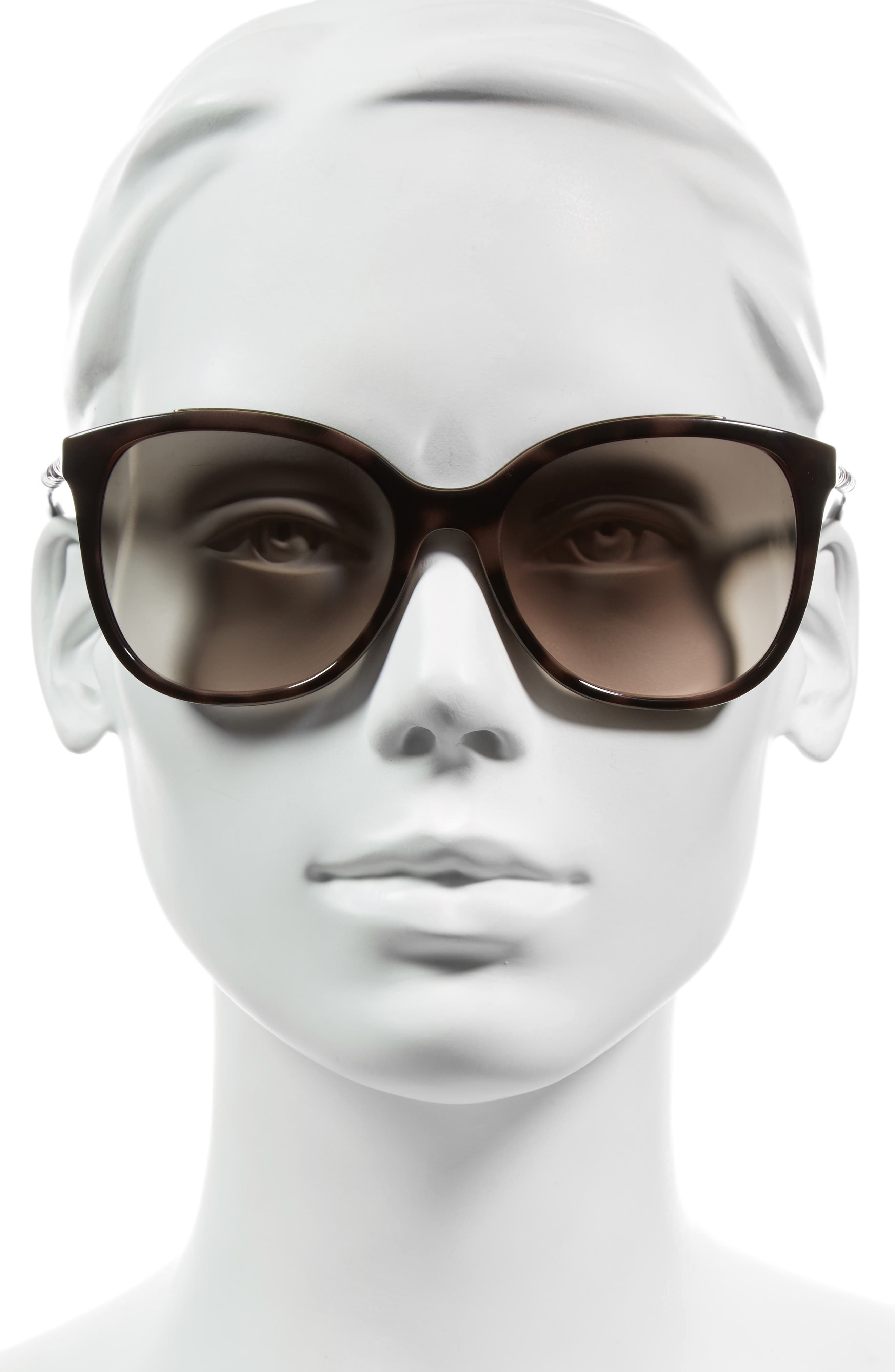 Alternate Image 2  - Burberry 57mm Sunglasses