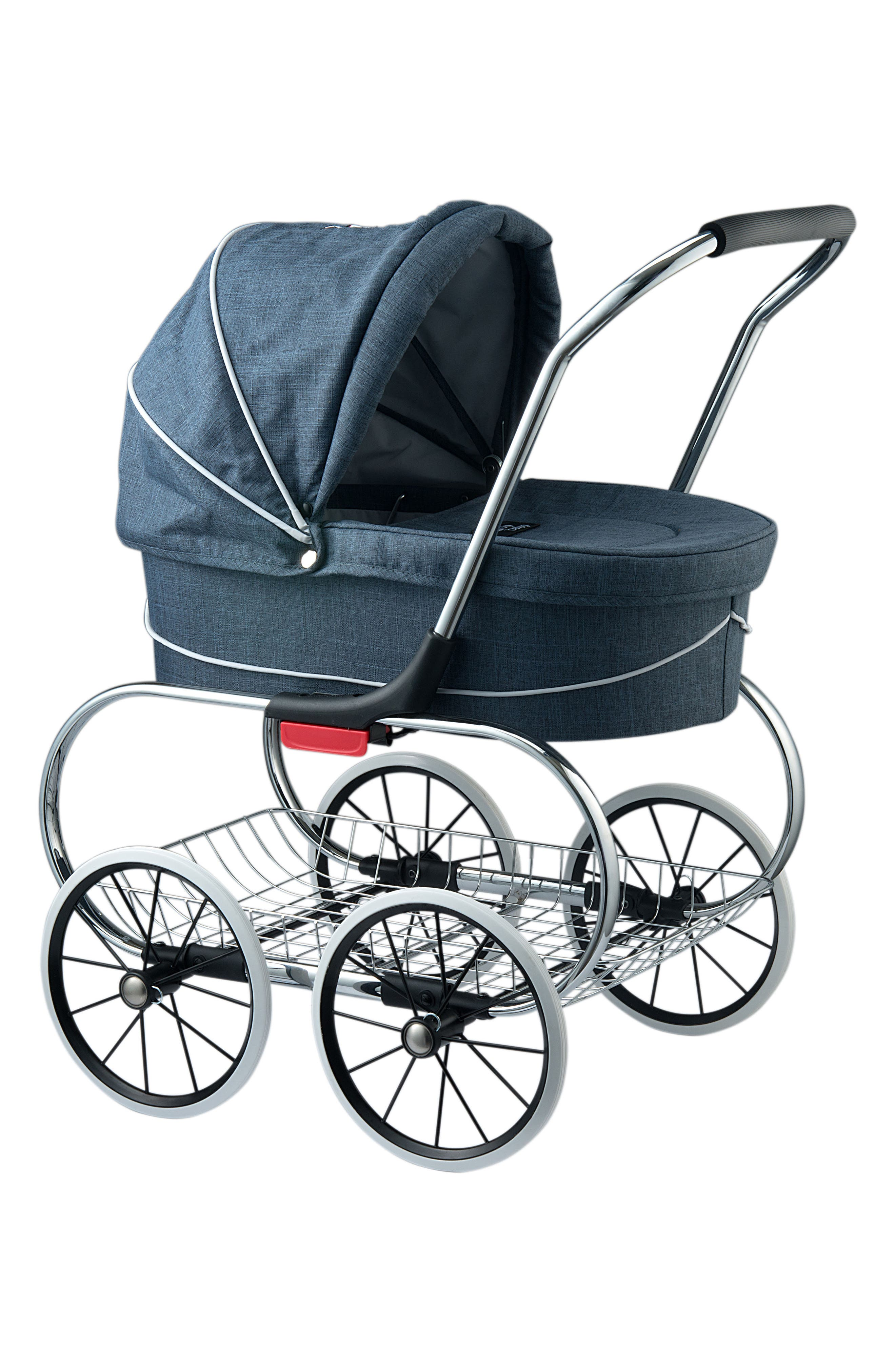 Princess Doll Stroller,                         Main,                         color, Blue