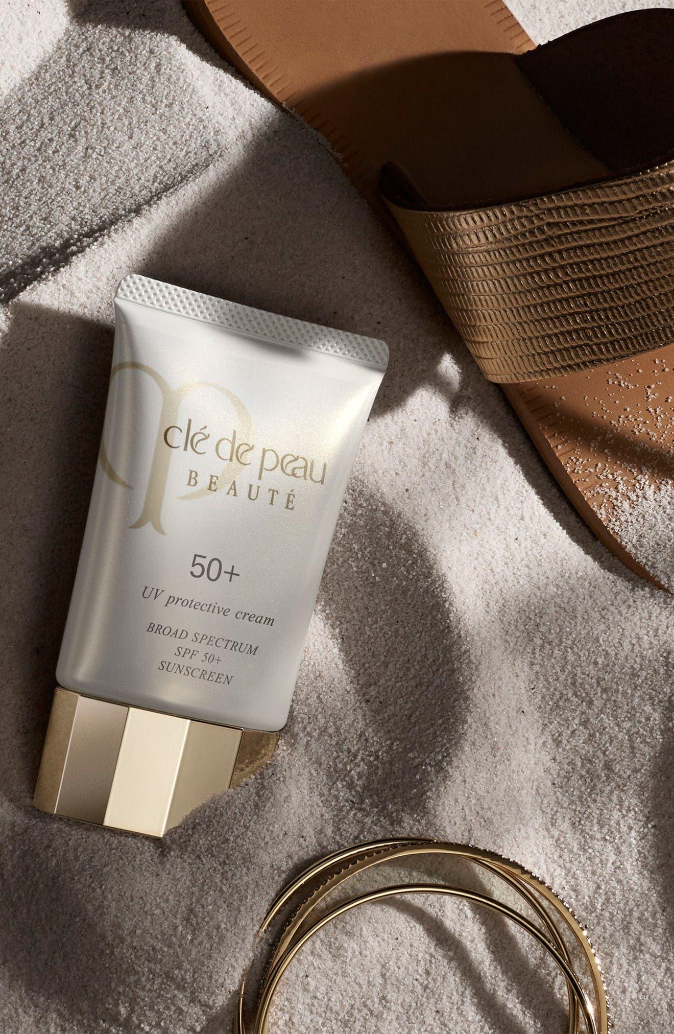 Alternate Image 3  - Clé de Peau Beauté UV Protective Cream Broad Spectrum SPF 50+