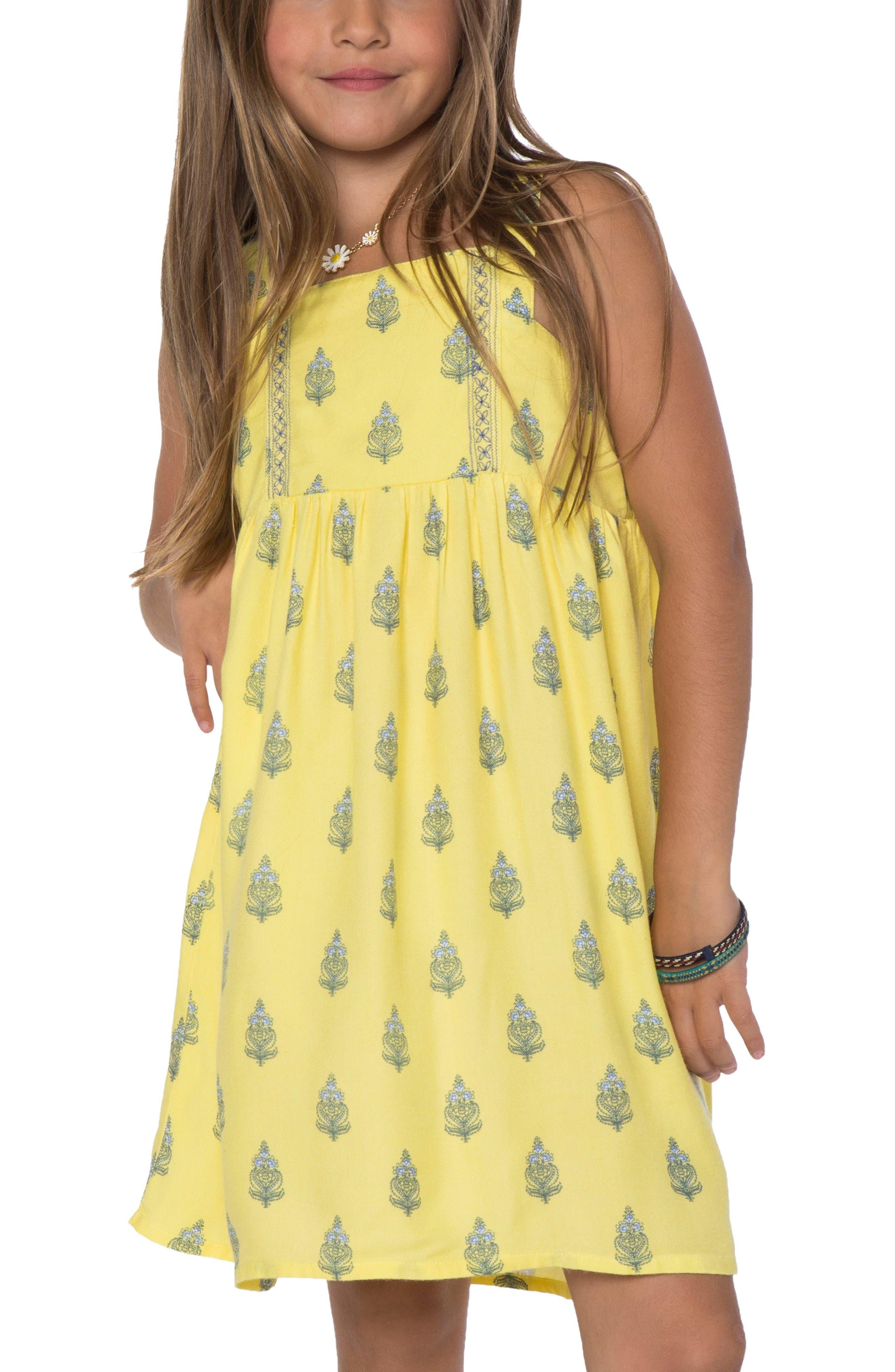 Main Image - O'Neill Ivy Tank Dress (Toddler Girls & Little Girls)