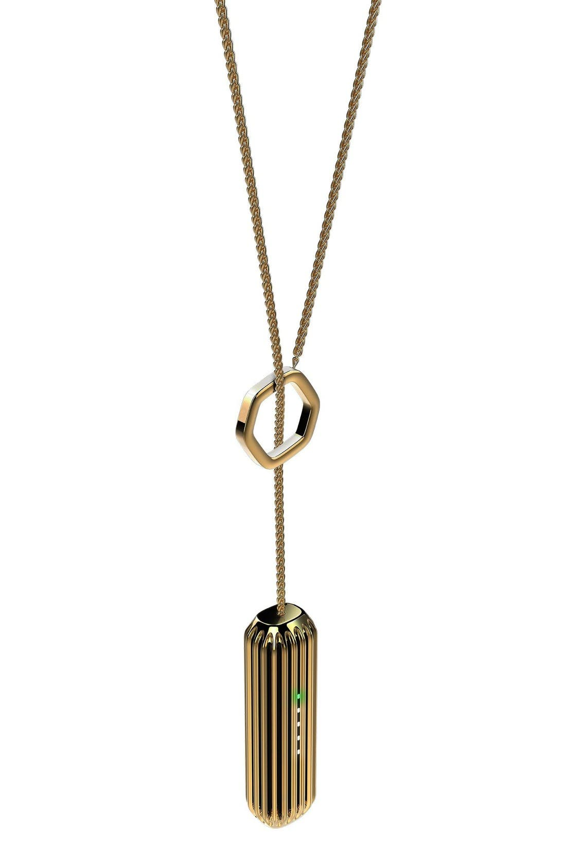 Flex 2 Lariat Pendant,                             Alternate thumbnail 2, color,                             Gold