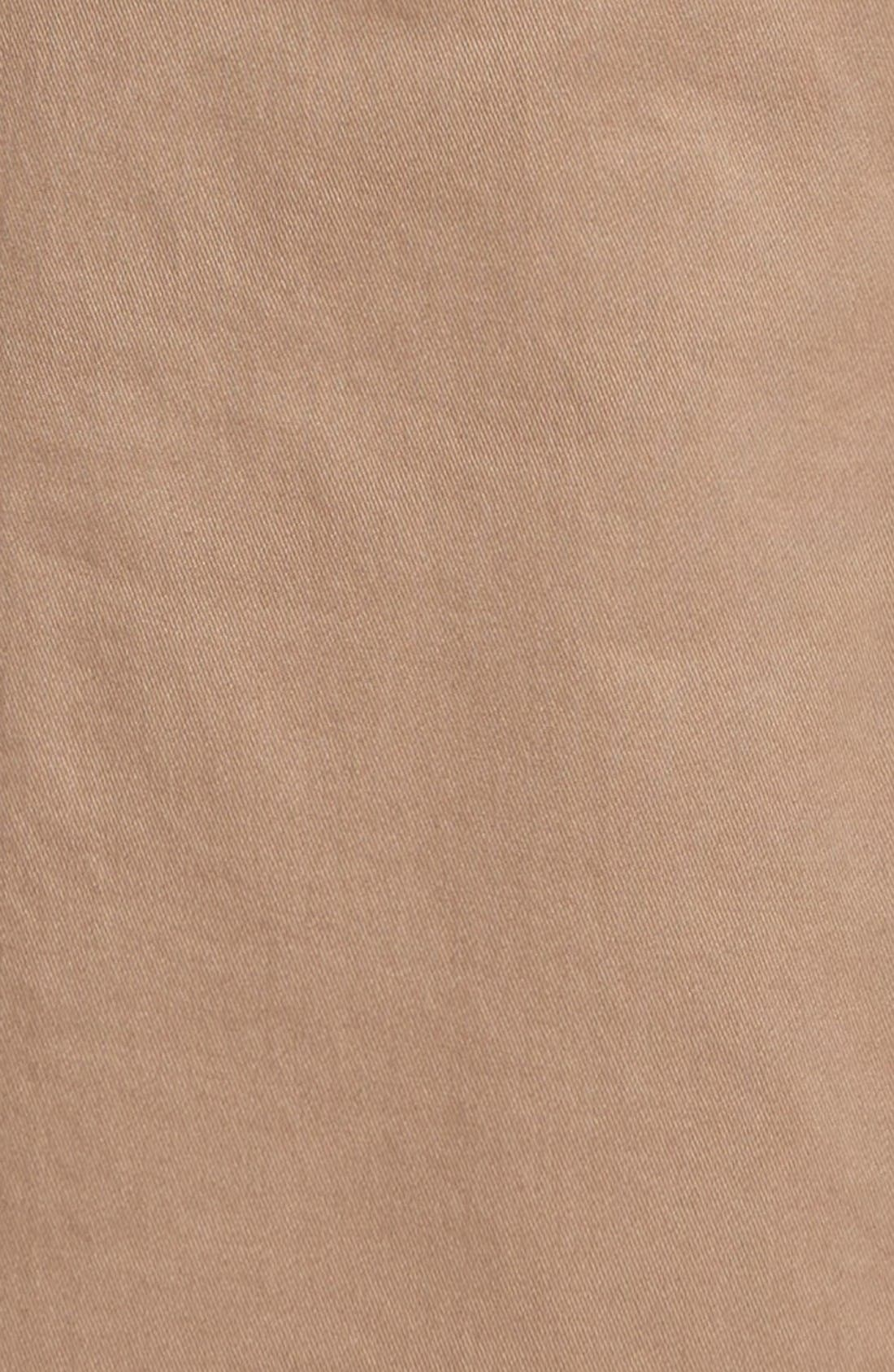 Slim Fit Stretch Chinos,                             Alternate thumbnail 3, color,                             Beige