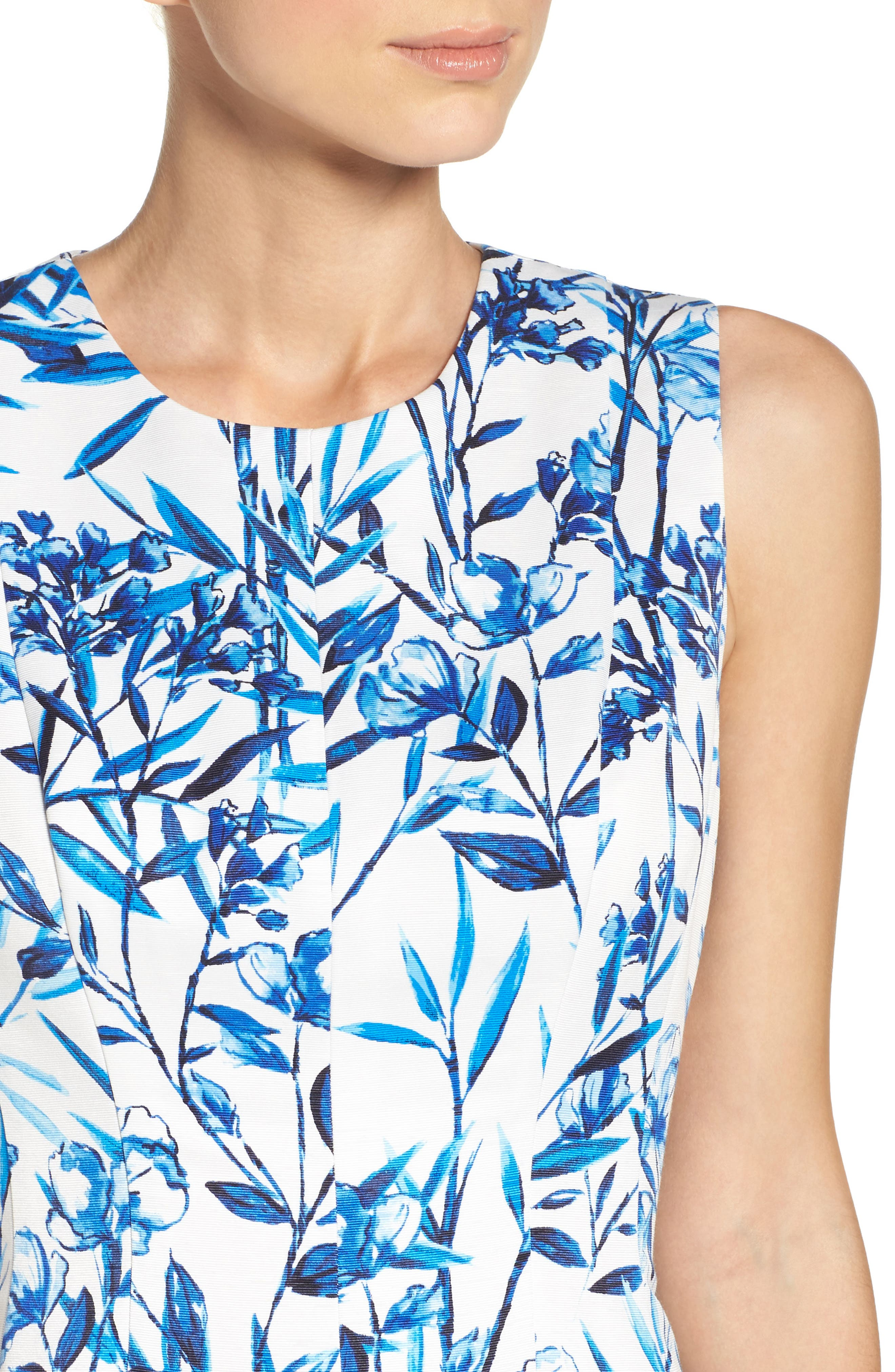 Alternate Image 4  - Eliza J Fit & Flare Midi Dress
