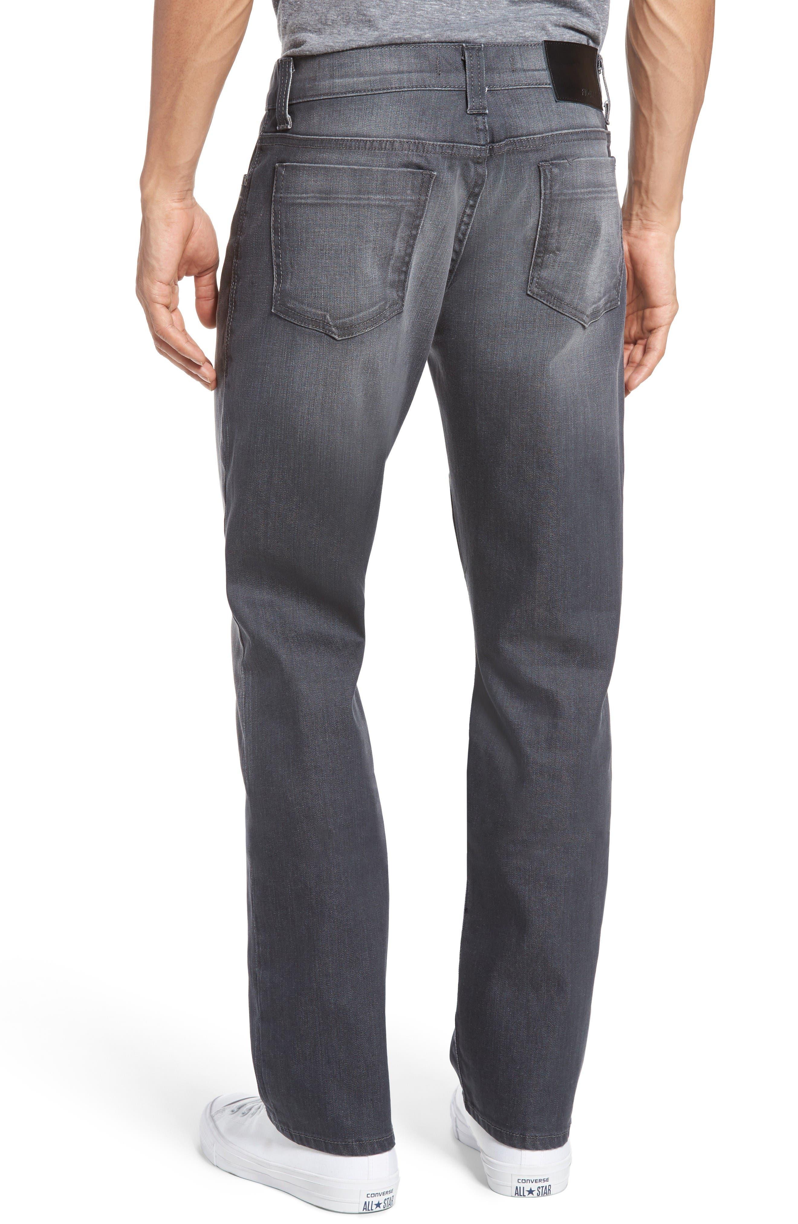 Alternate Image 2  - Fidelity Denim Impala Straight Leg Jeans (River Dark)