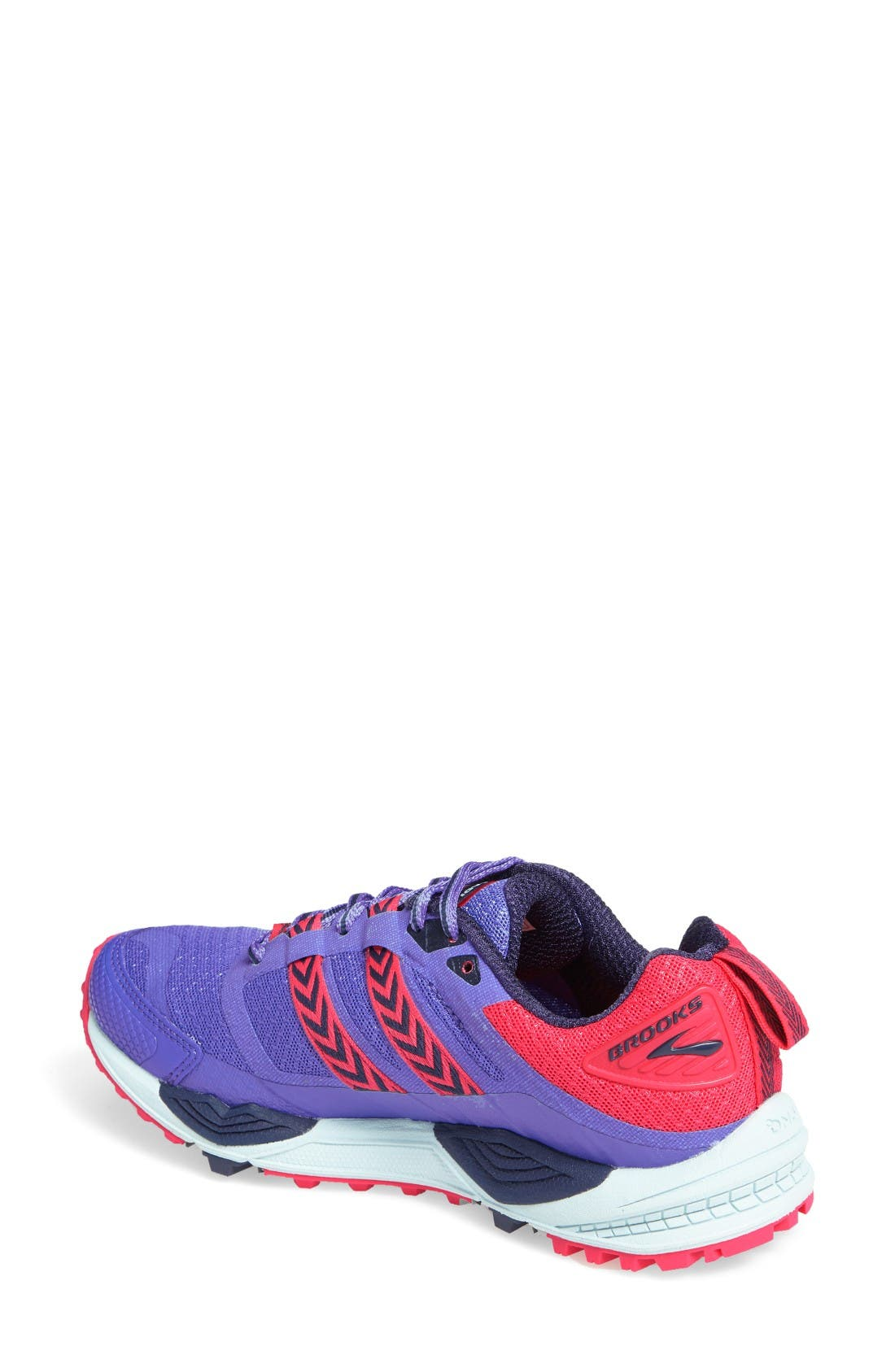 Cascadia 12 Trail Running Shoe,                             Alternate thumbnail 2, color,                             Baja Blue/ Pink/ Clearwater