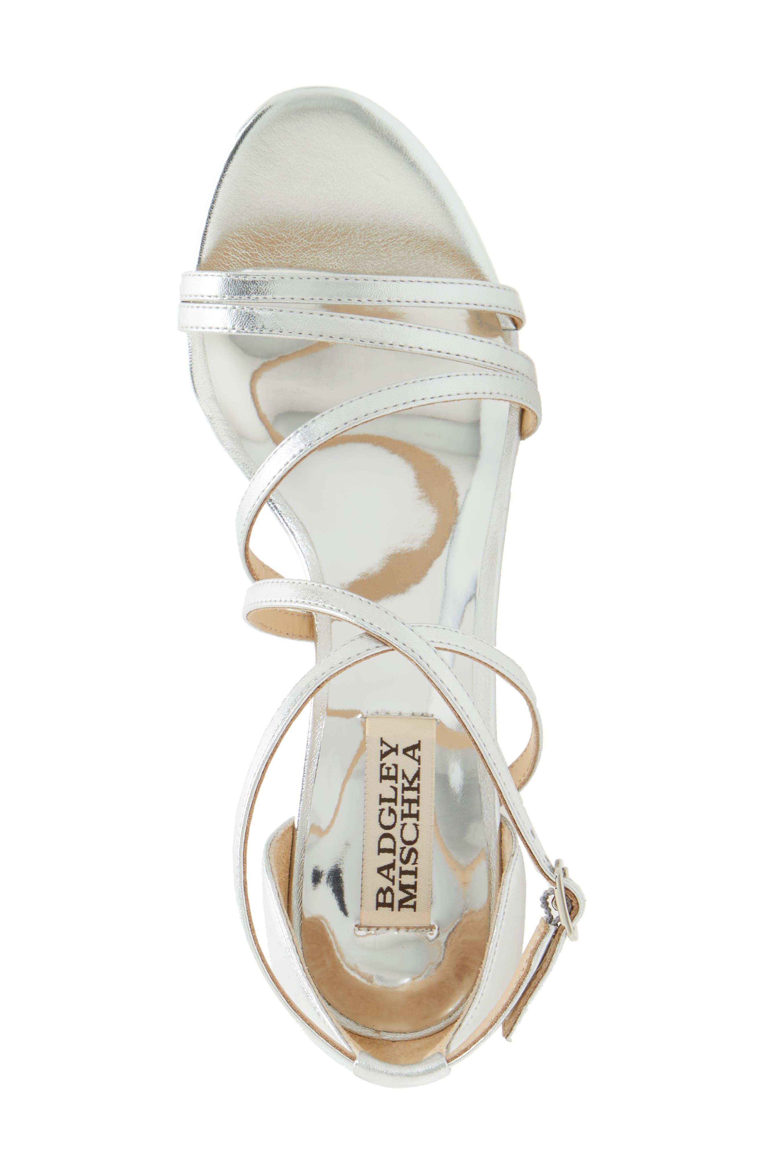 Alternate Image 3  - Badgley Mischka Bonanza Strappy Wedge Sandal (Women)