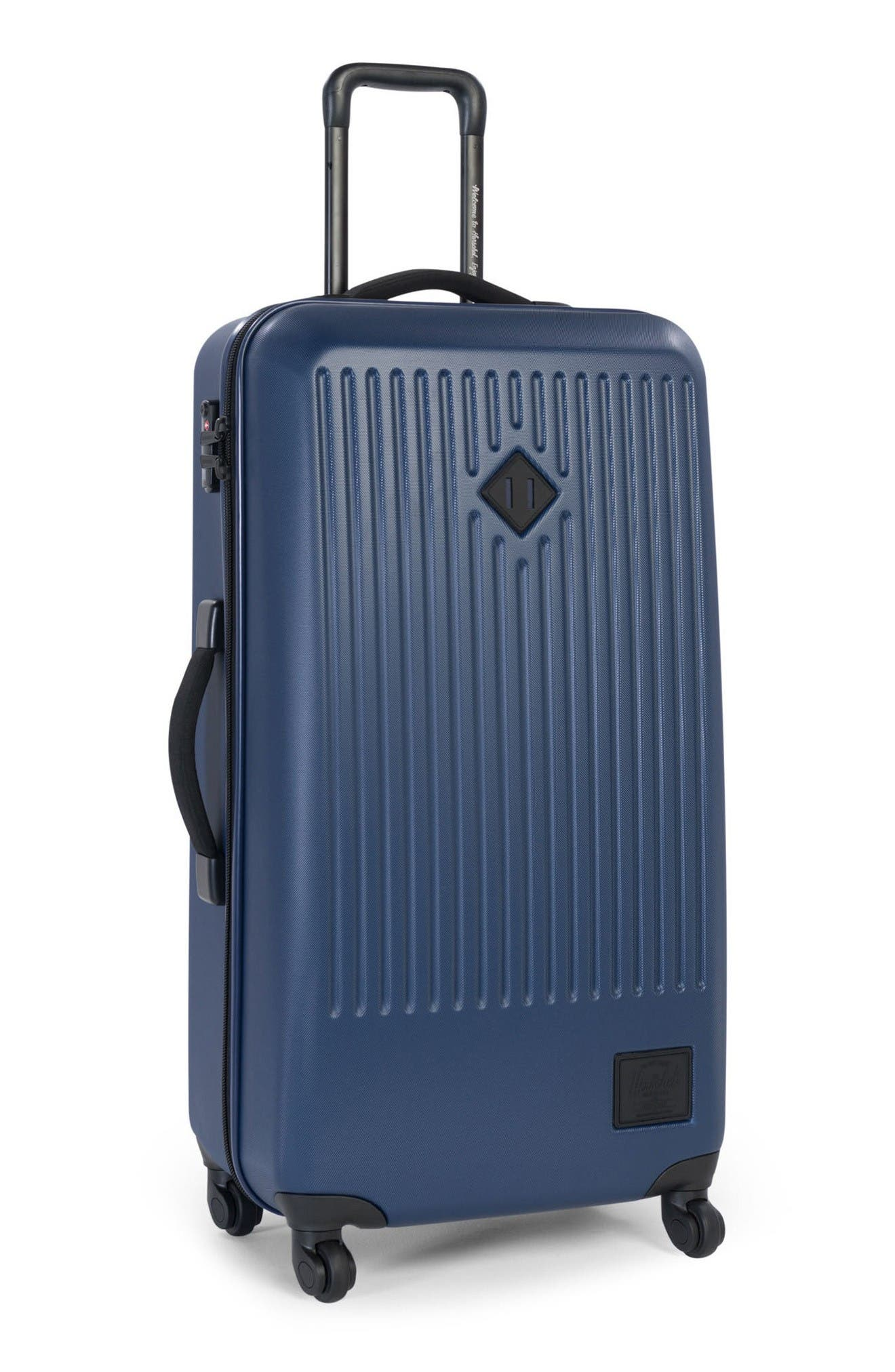 Trade Large Wheeled Packing Case,                             Alternate thumbnail 4, color,                             Navy