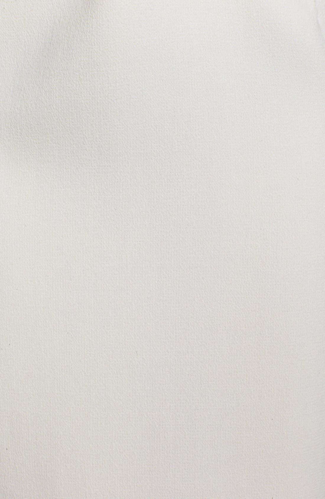Alternate Image 5  - Oscar de la Renta Wool Crepe Pencil Dress