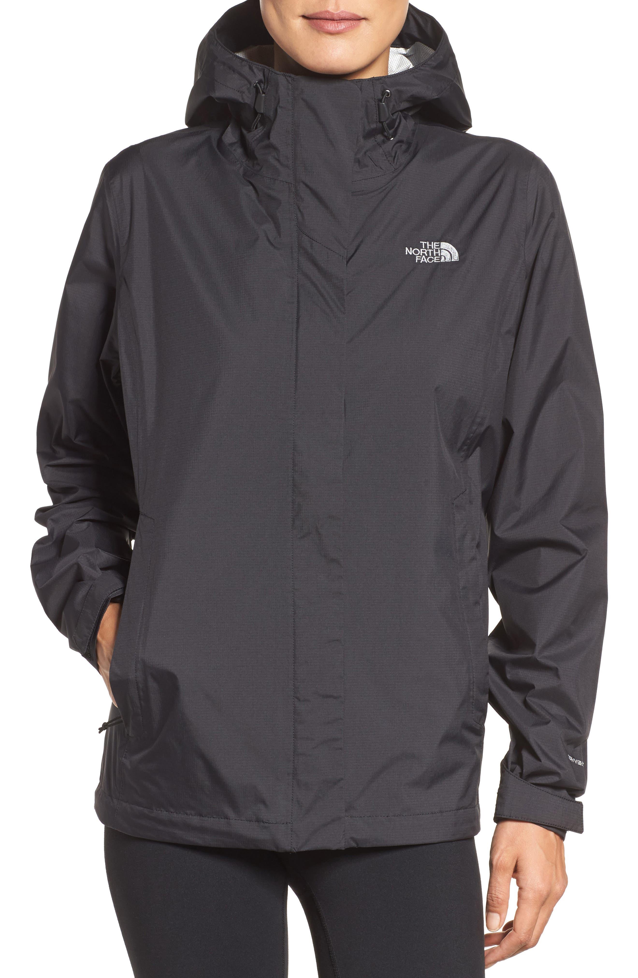 Venture 2 Waterproof Jacket,                         Main,                         color, Tnf Black