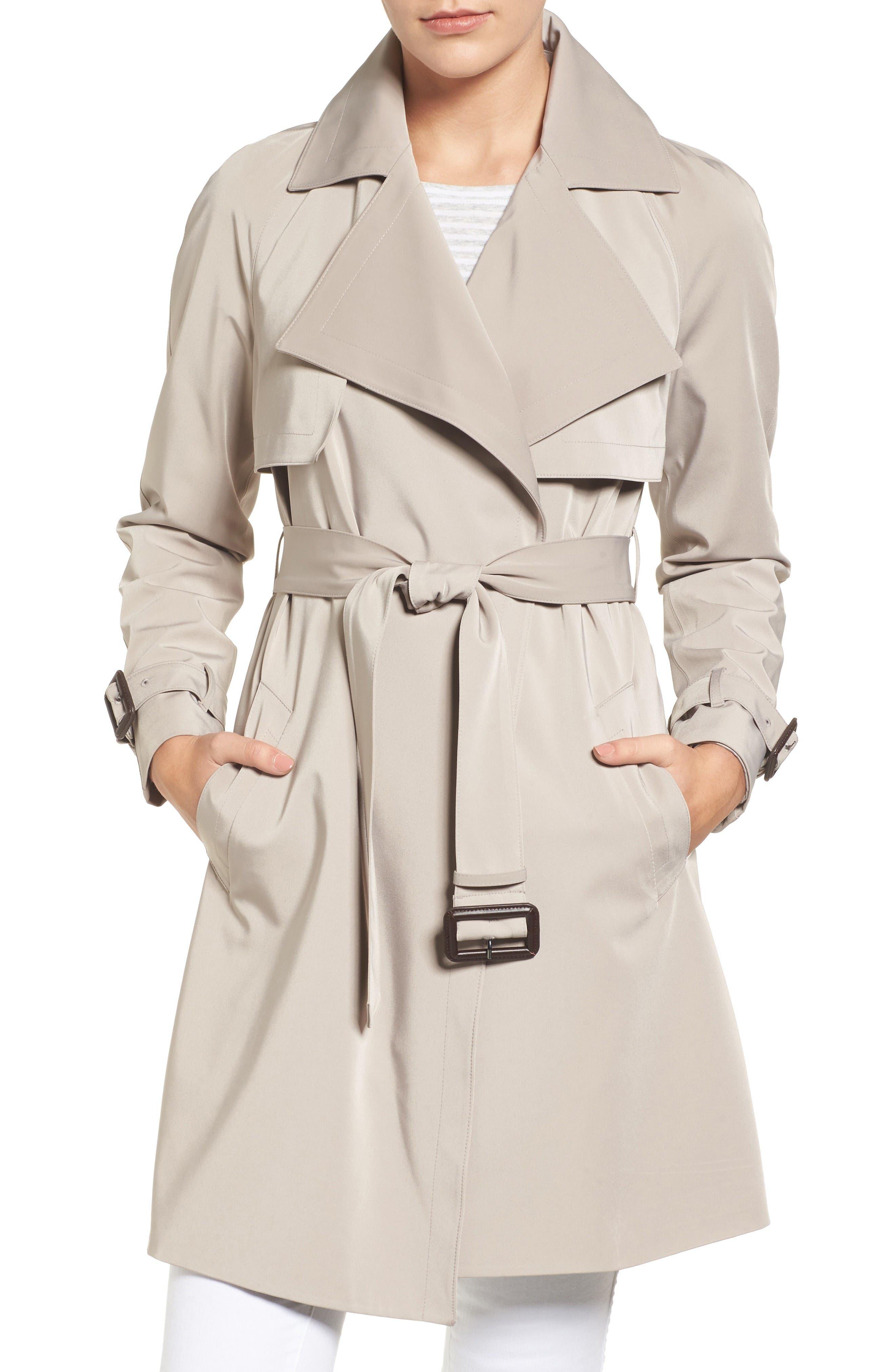 Alternate Image 1 Selected - MICHAEL Michael Kors Trench Coat