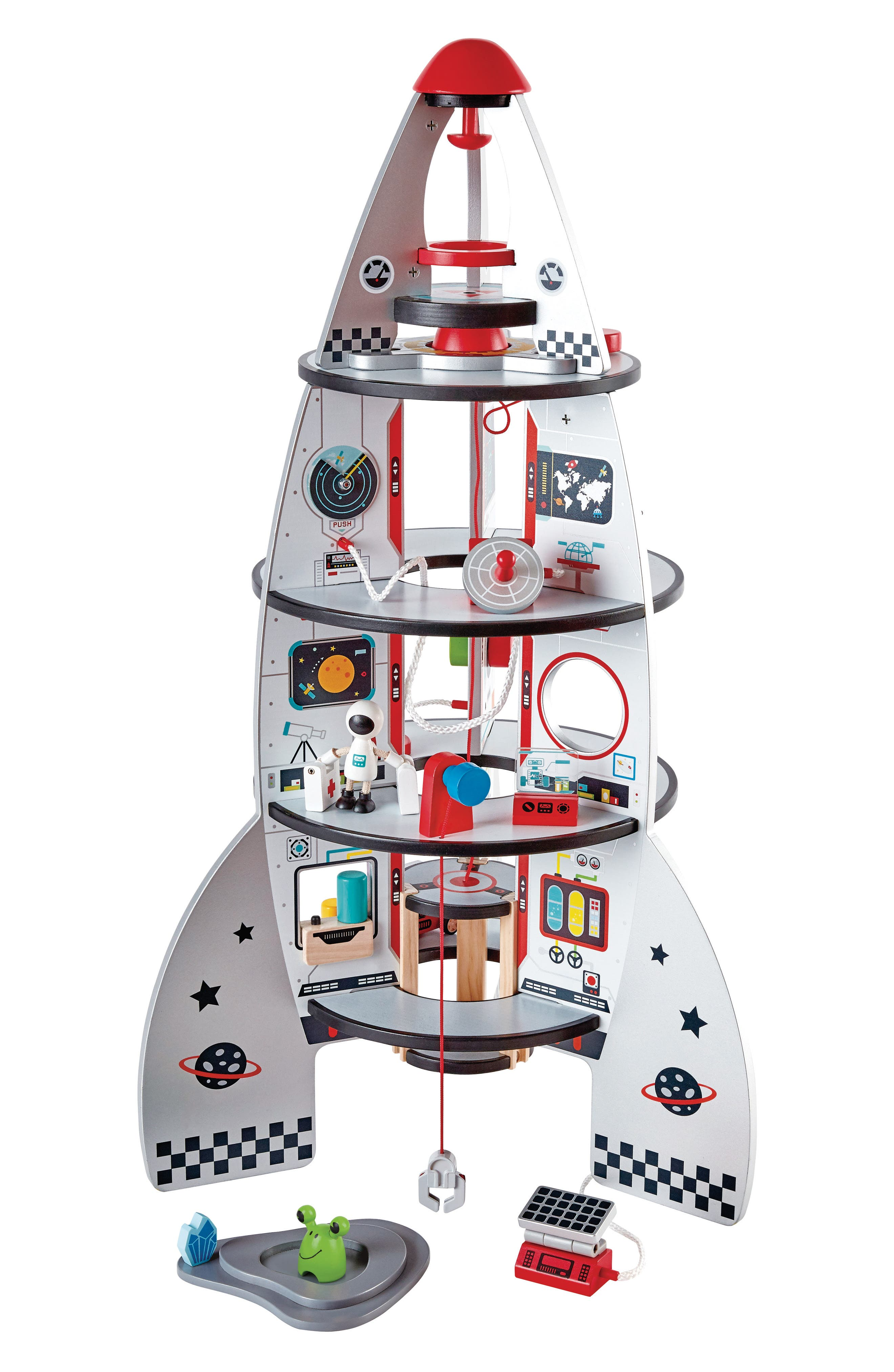Playscapes Four-Stage Rocket Ship,                         Main,                         color, Multi