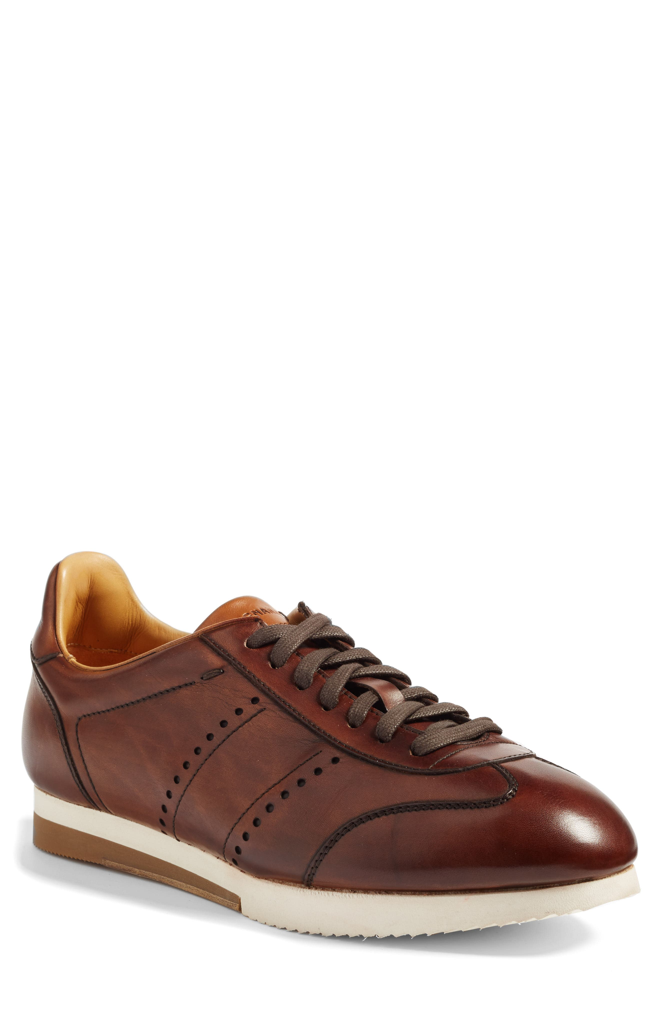 Isco Sneaker,                             Main thumbnail 1, color,                             Mid-Brown