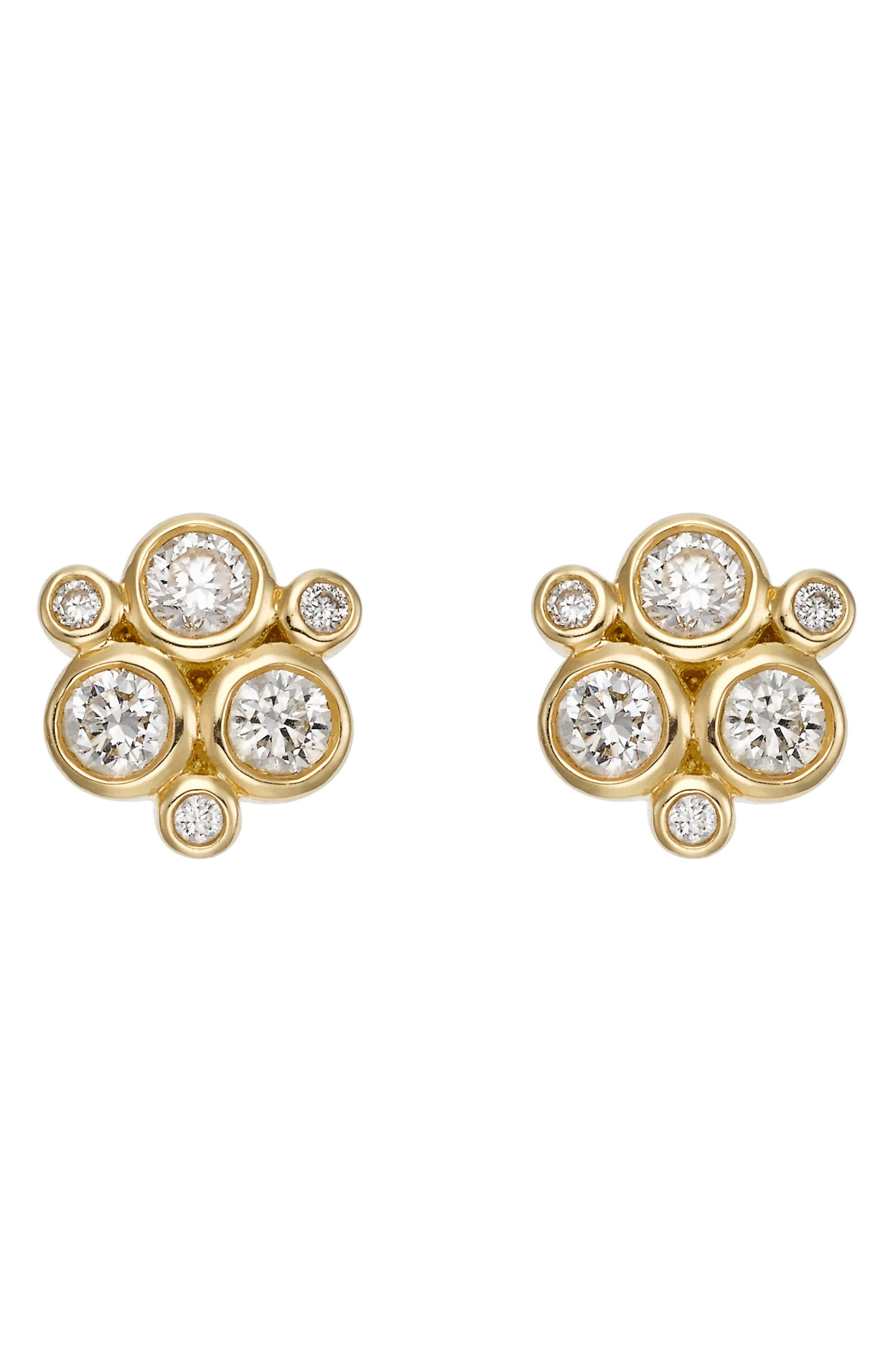 Main Image - Temple St. Clair Diamond Stud Earrings