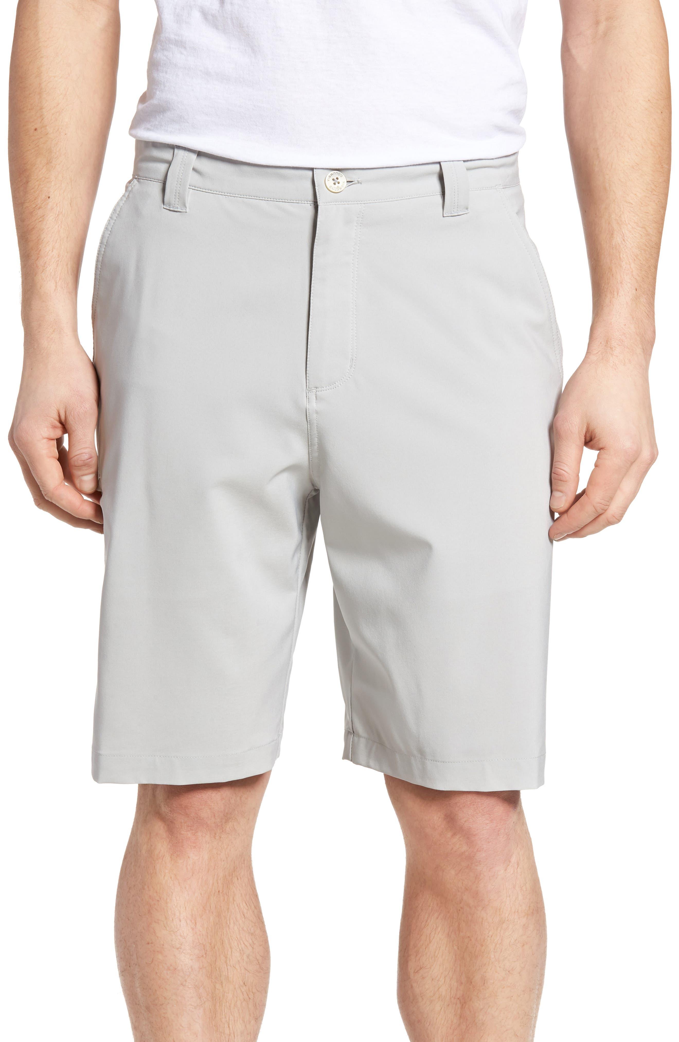PFG Grander Marlin II Shorts,                         Main,                         color, Cool Grey