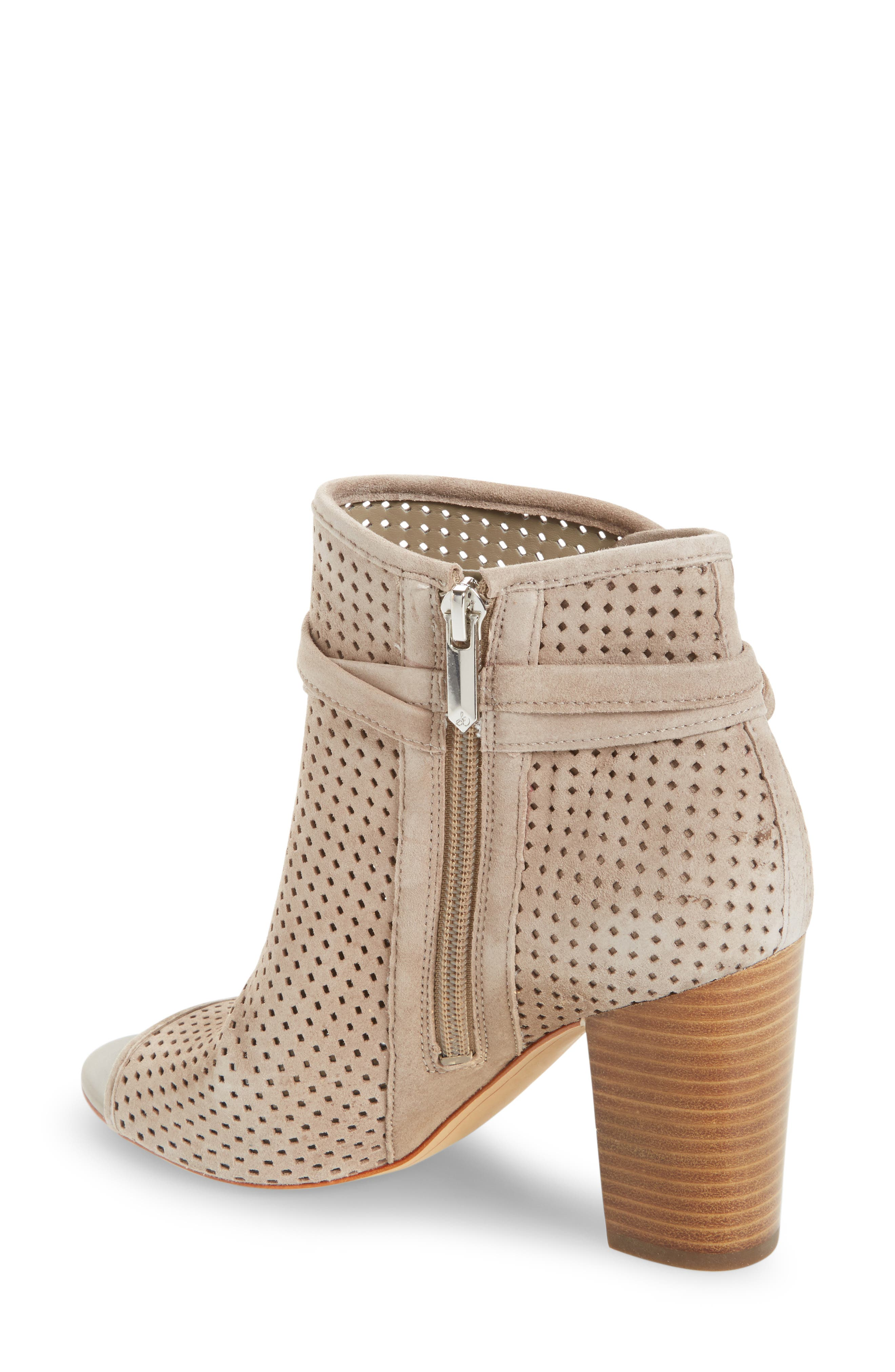 Alternate Image 2  - Sam Edelman Ellery Open Toe Bootie (Women)