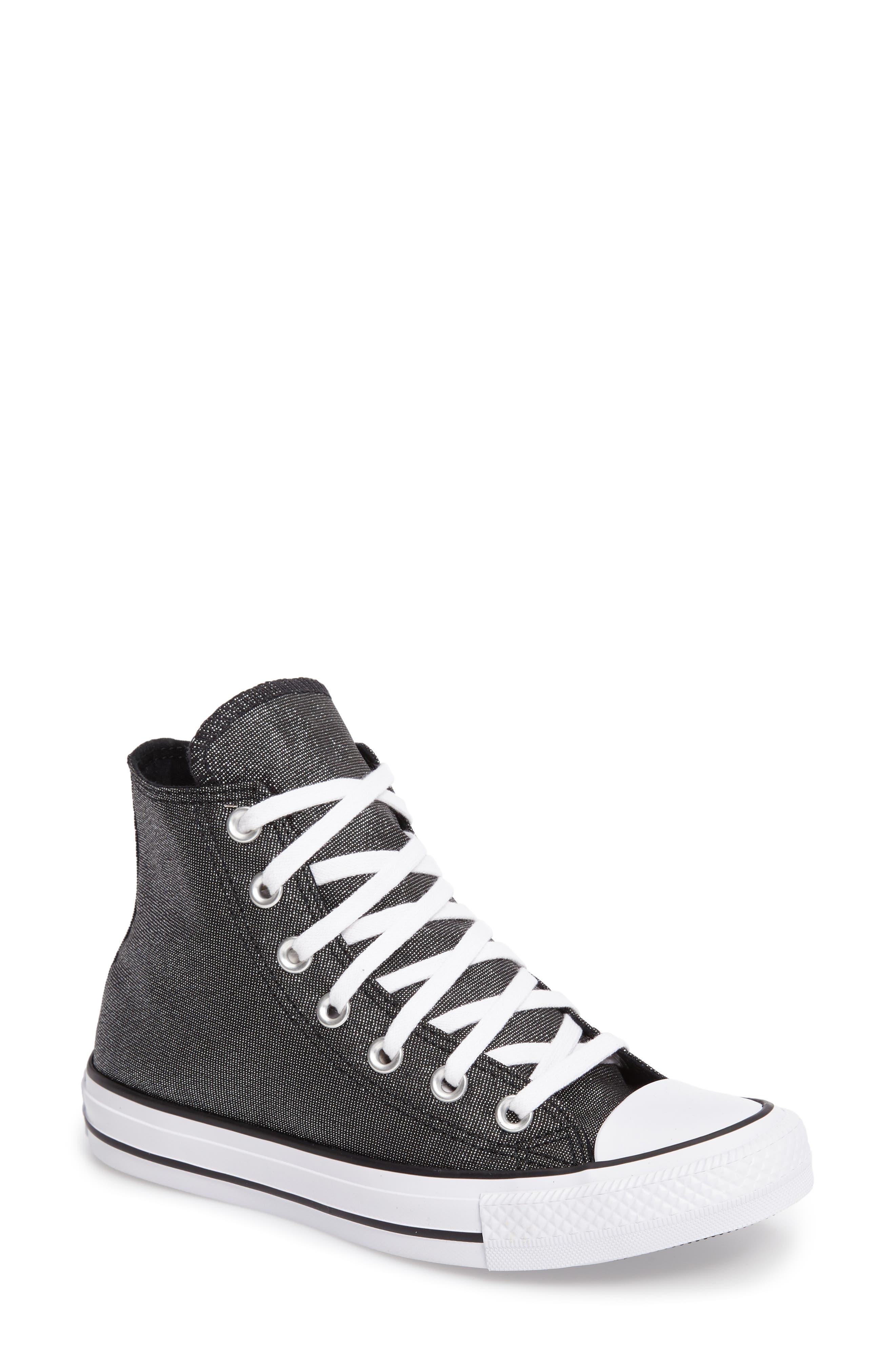 Main Image - Converse Chuck Taylor® All Star® Glam Hi Sneaker