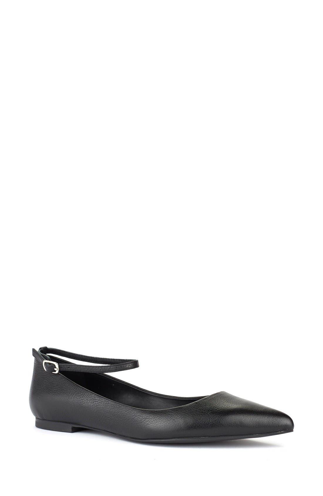 Alternate Image 1 Selected - Shoes of Prey Ankle Strap Flat (Women)