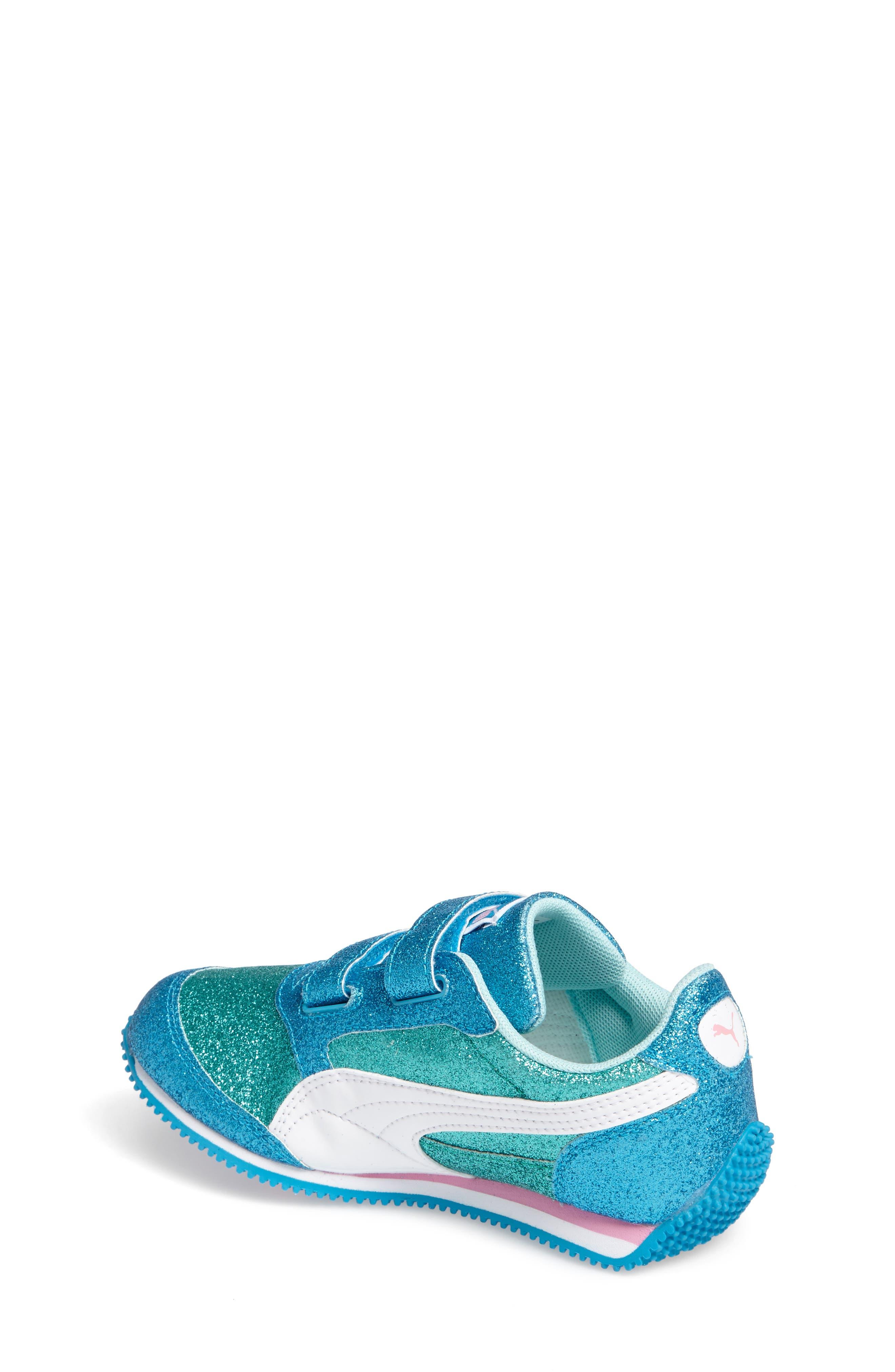 Alternate Image 2  - PUMA Steeple Glitz Glam Sneaker (Baby, Walker, Toddler, Little Kid & Big Kid)