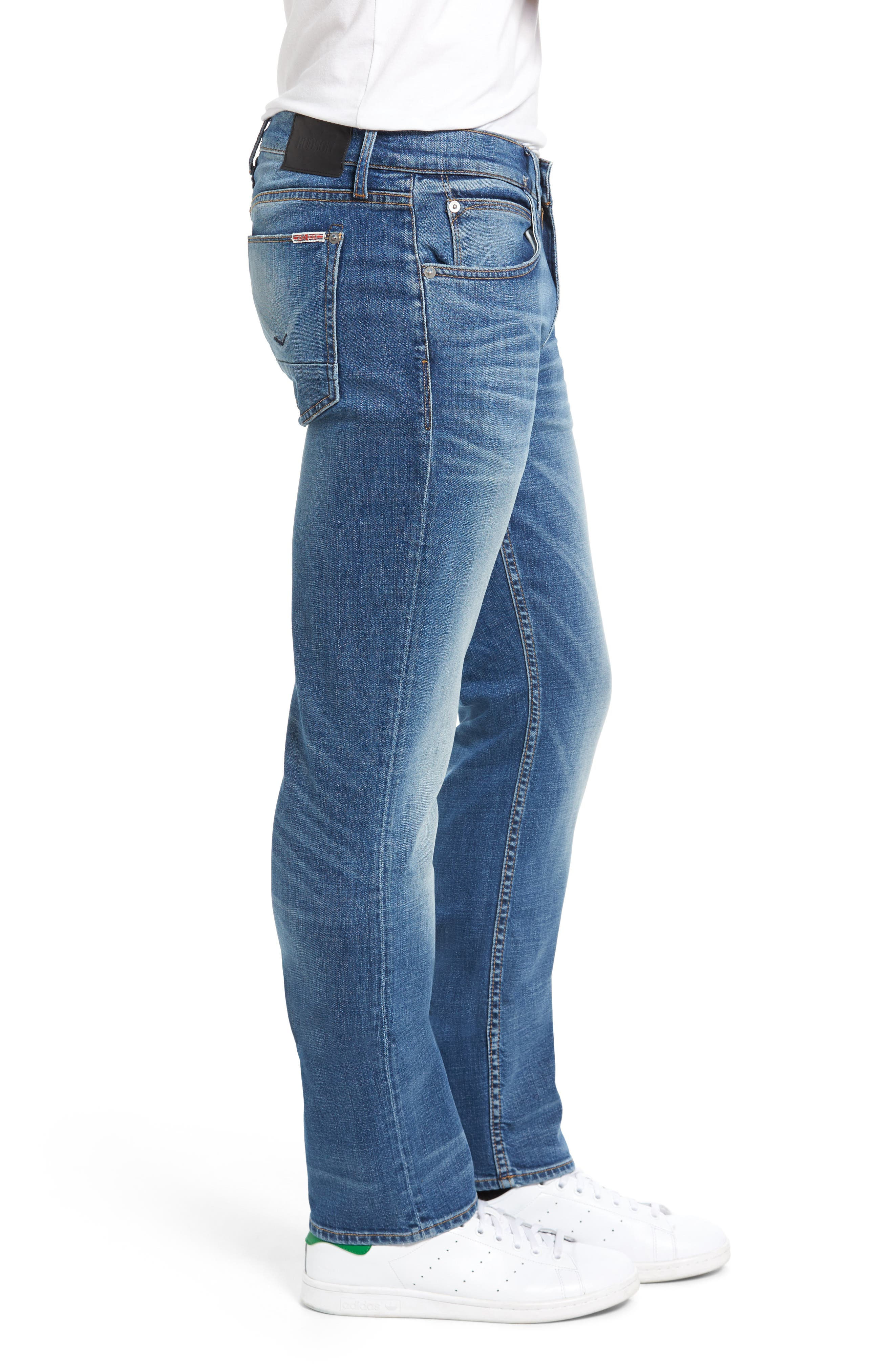 Alternate Image 3  - Hudson Jeans Byron Slim Straight Leg Jeans (Normandy)
