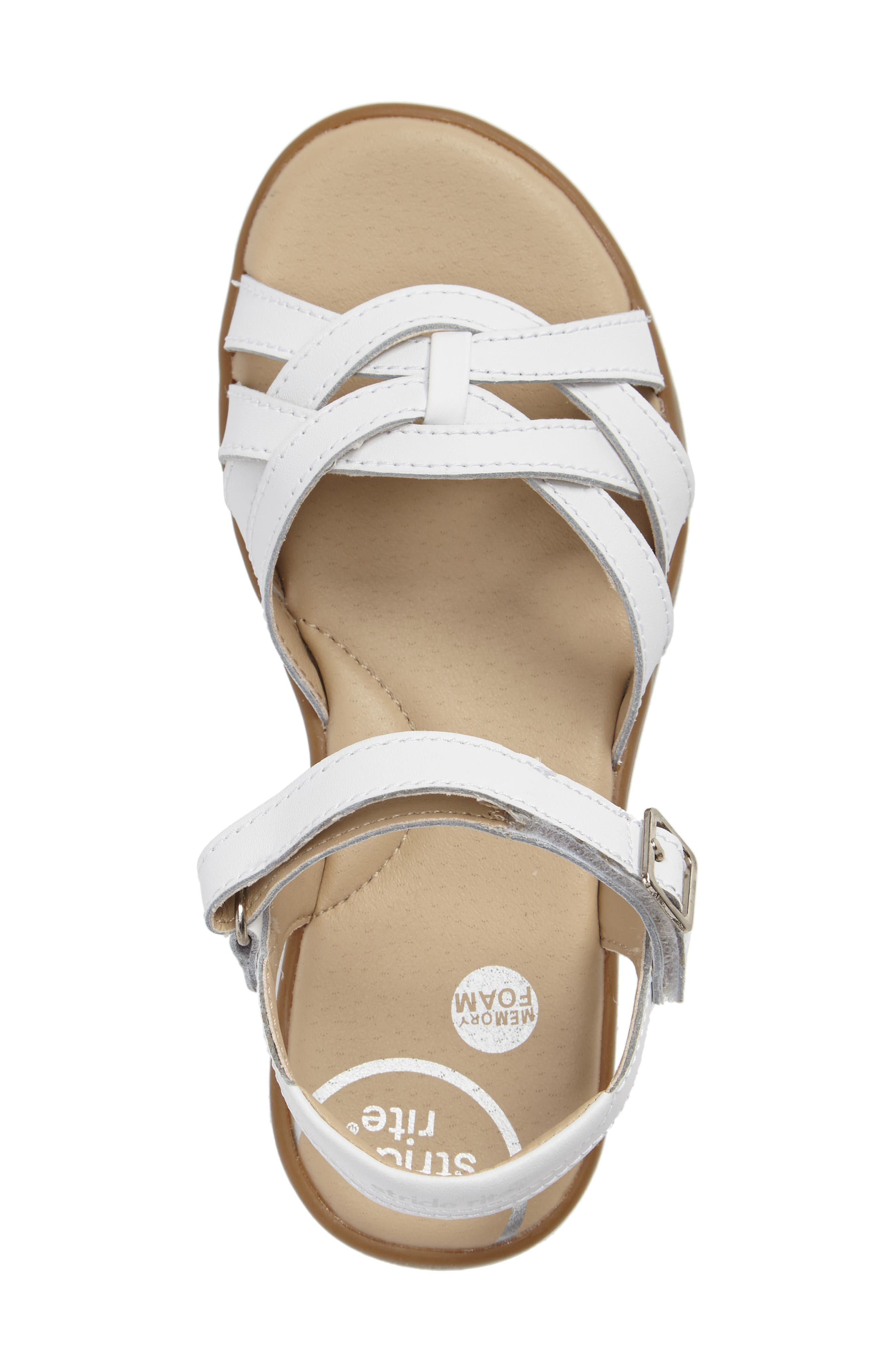 Millie Sandal,                             Alternate thumbnail 3, color,                             White