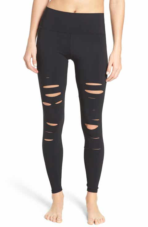 Alo Ripped Airbrush Leggings