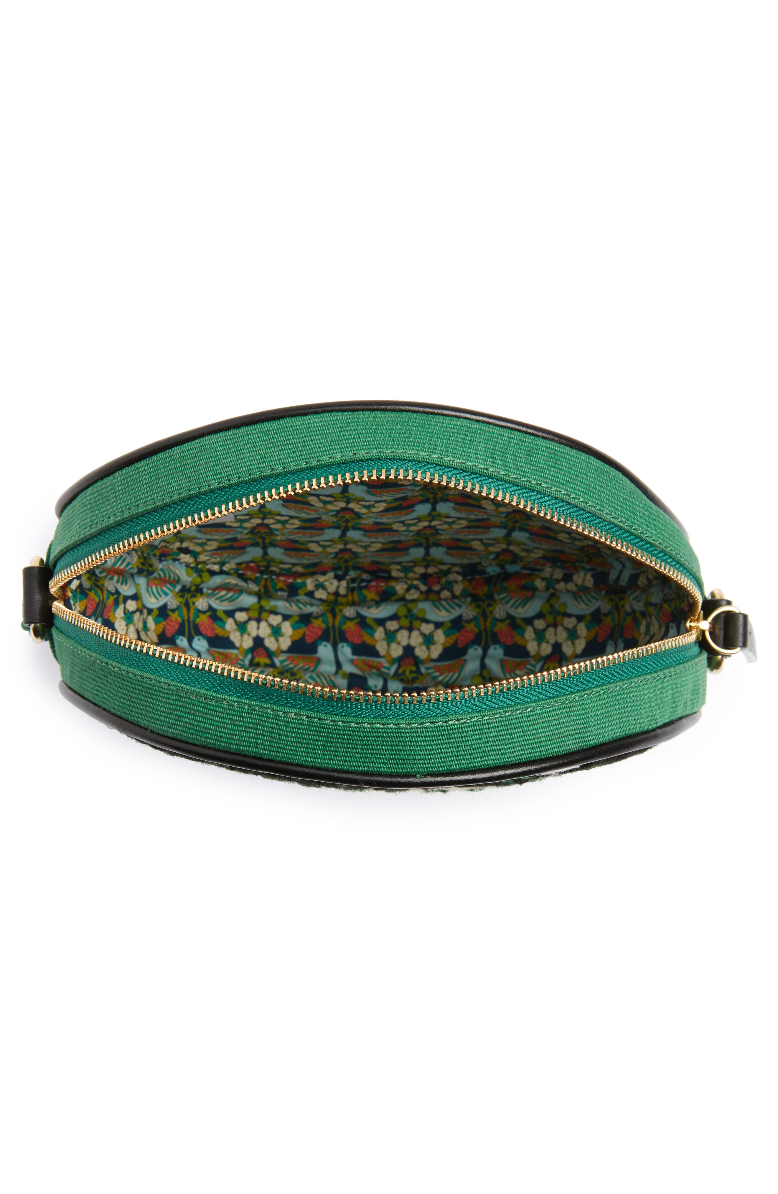 Kaleidoscope Shoulder Bag,                             Alternate thumbnail 3, color,                             Olive Green
