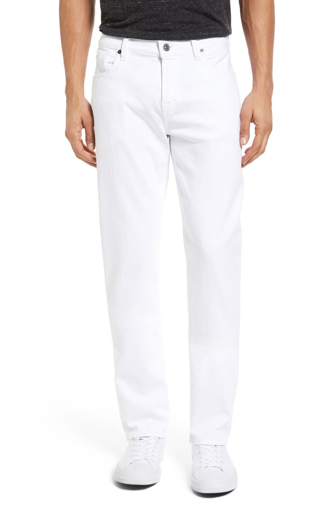 Luxe Performance - Slimmy Slim Fit Jeans,                             Main thumbnail 1, color,                             White
