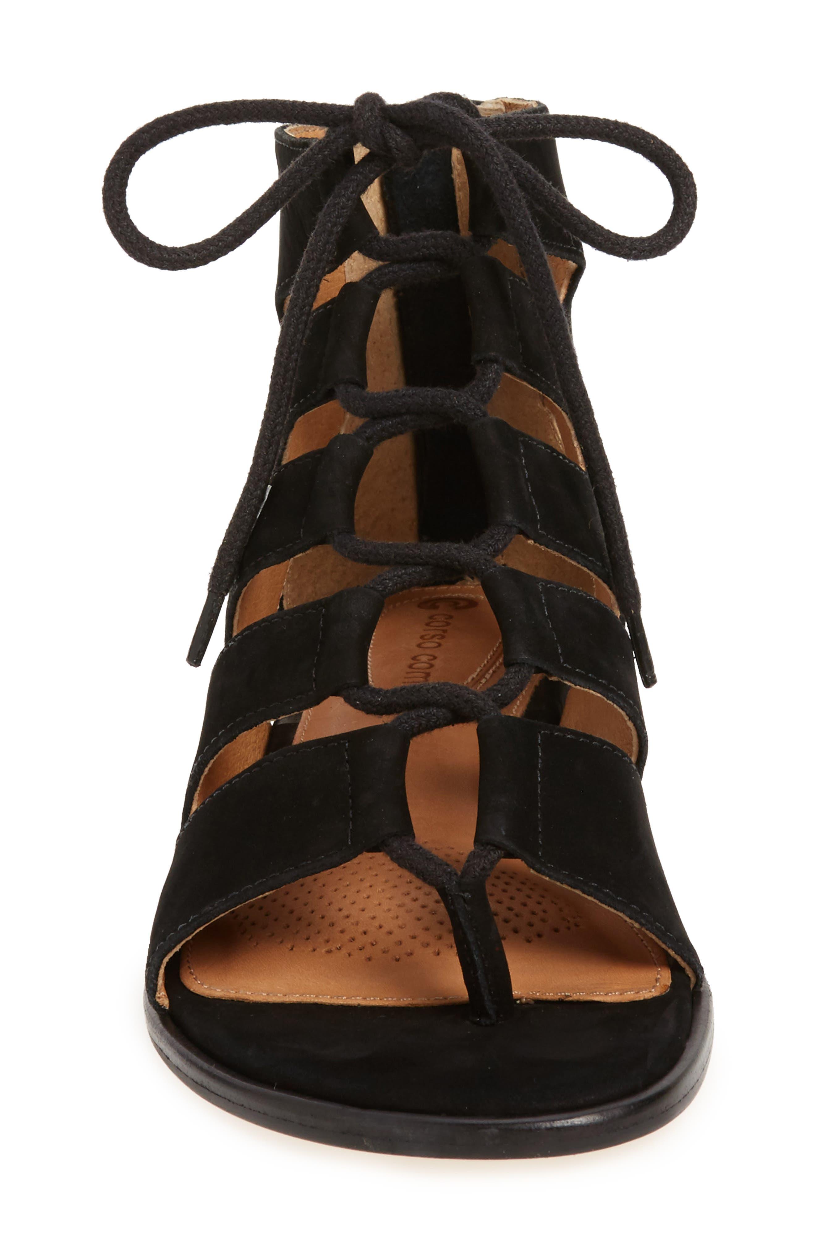 Alternate Image 3  - Corso Como Sunrise Ghillie Gladiator Sandal (Women)