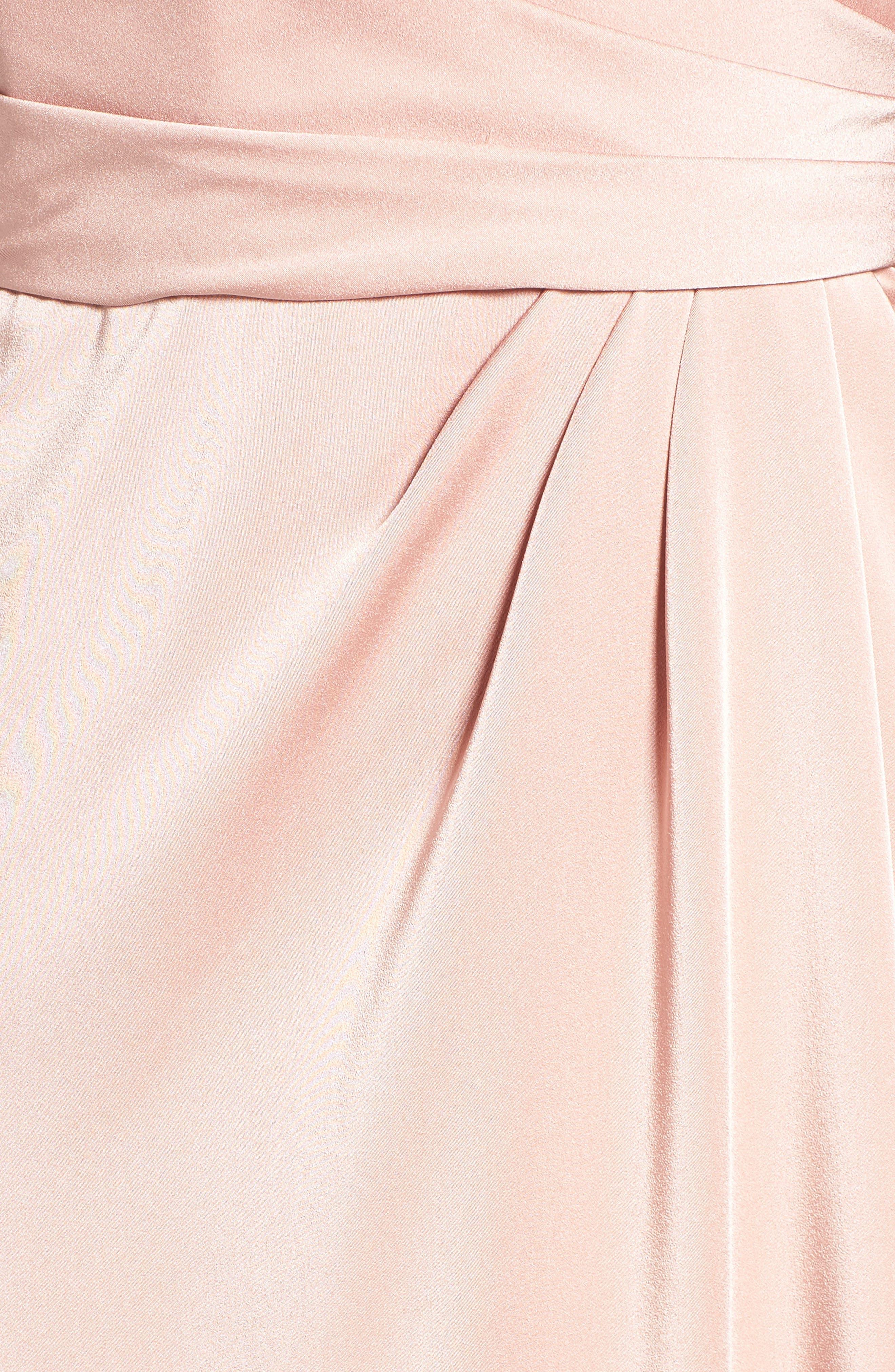 Alternate Image 5  - La Femme Sweetheart Gown