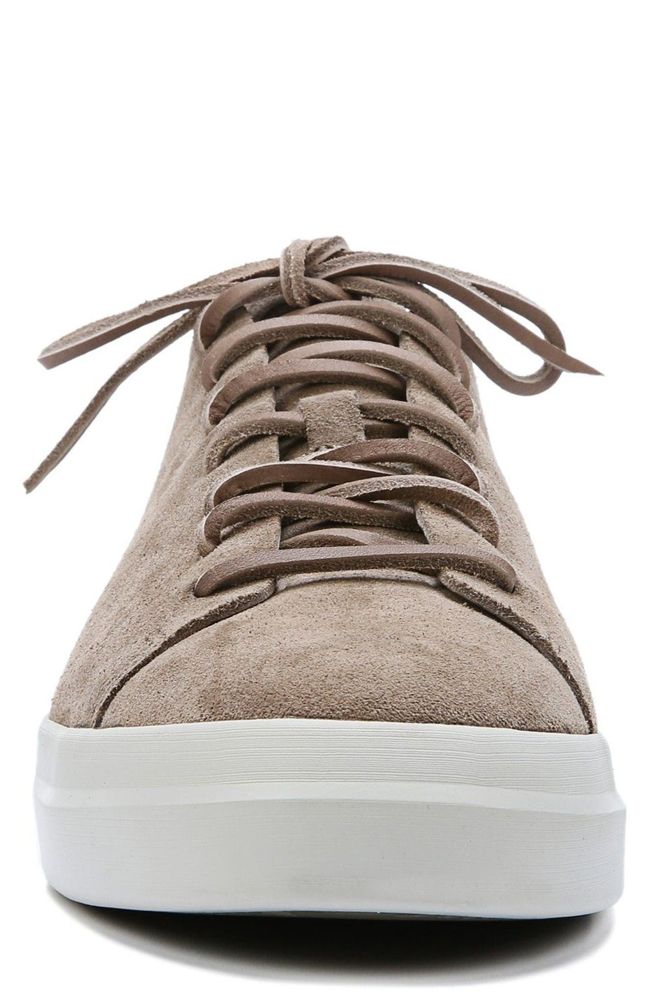 Copeland Sneaker,                             Alternate thumbnail 4, color,                             Flint Tan Suede