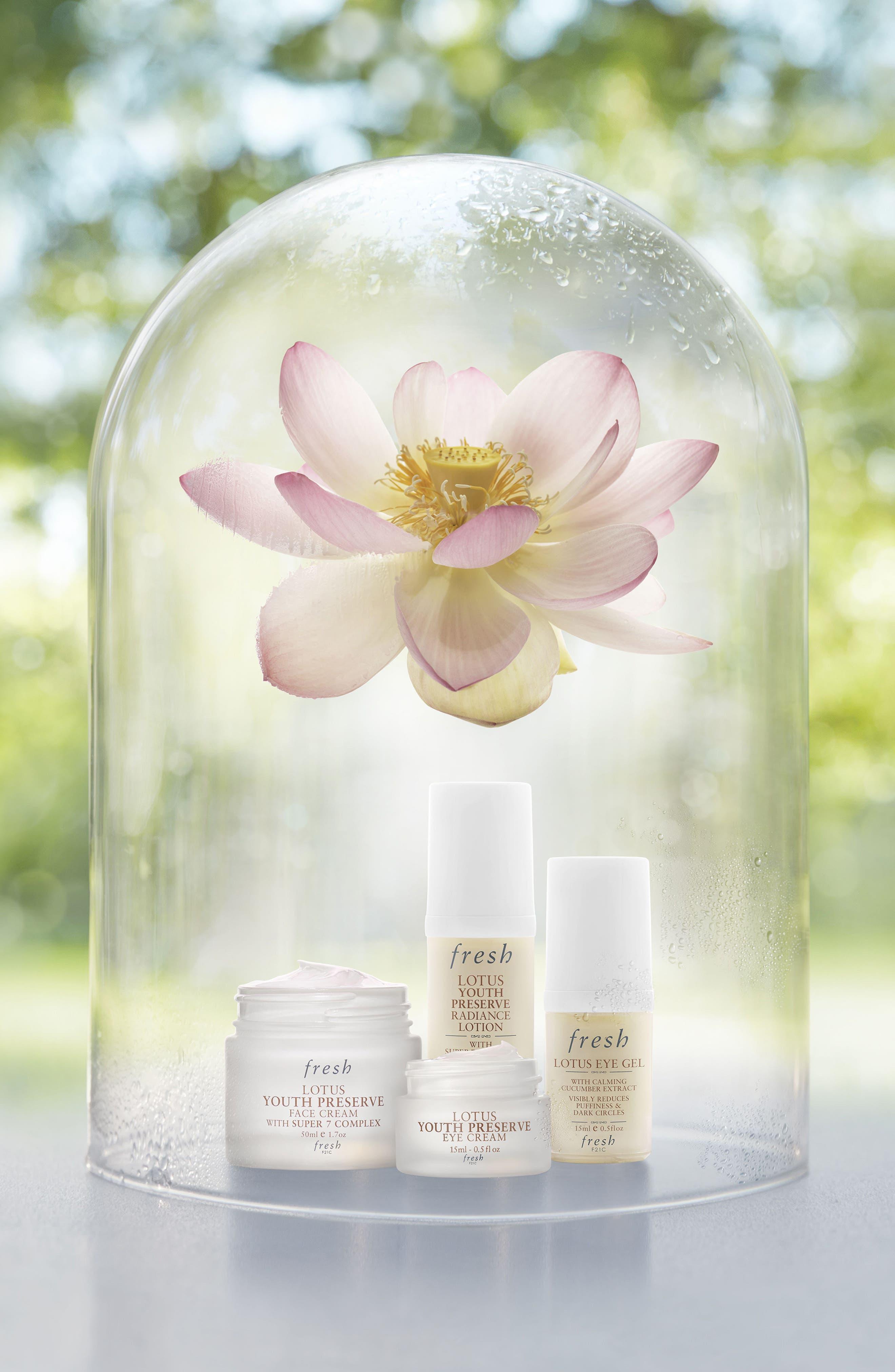 Alternate Image 2  - Fresh® Lotus Youth Preserve Radiance Lotion