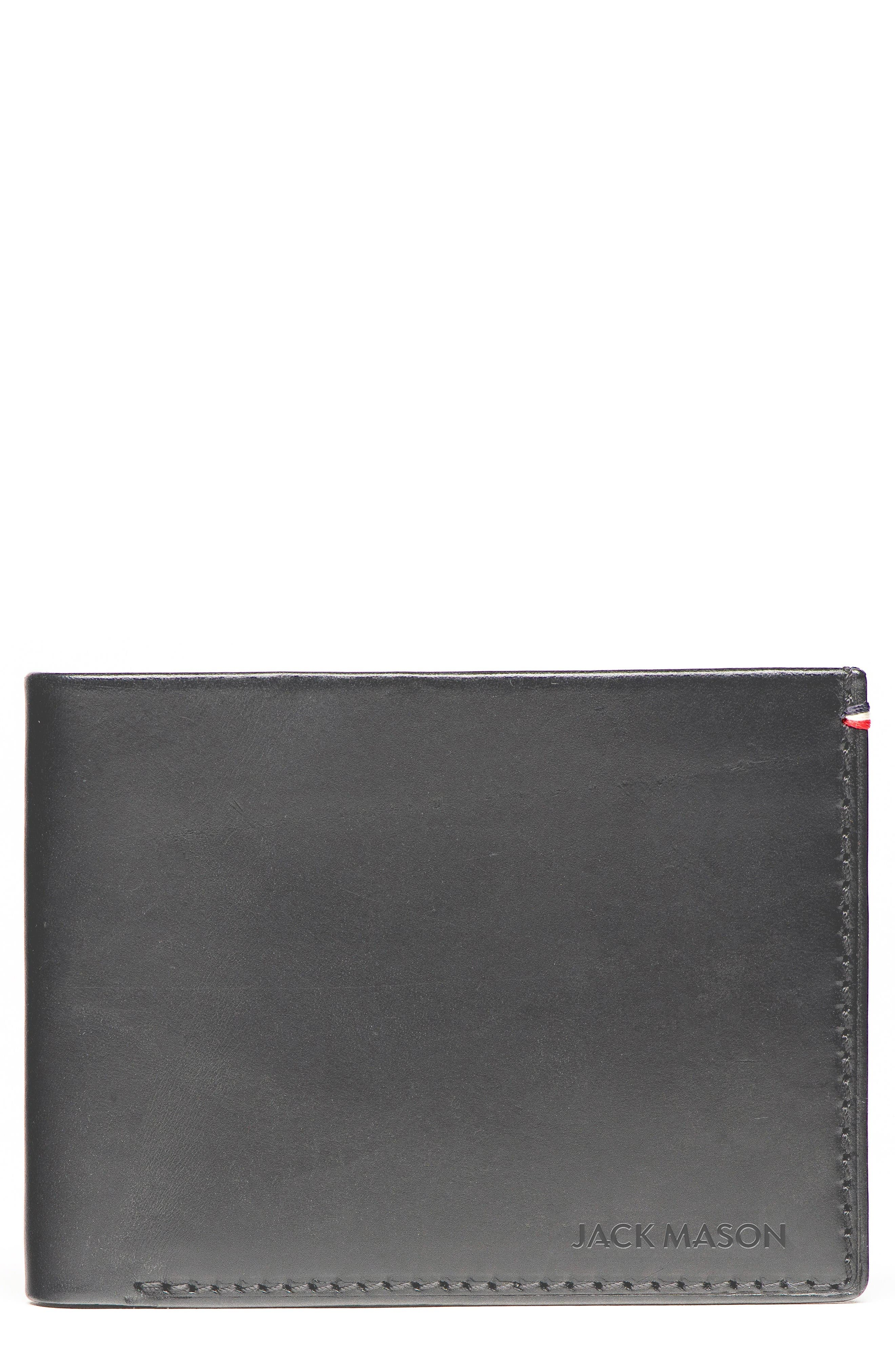 JACK MASON Lux Leather Wallet