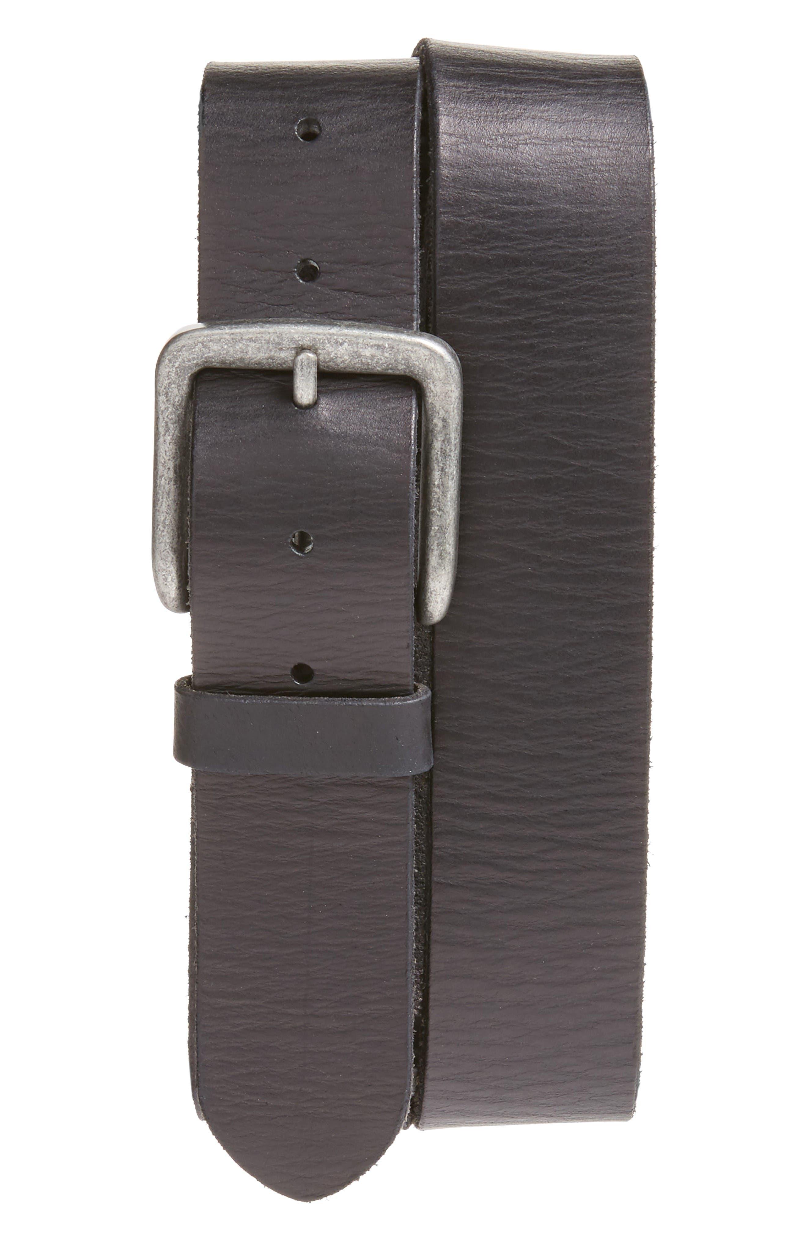 JOHN VARVATOS STAR USA Leather Belt