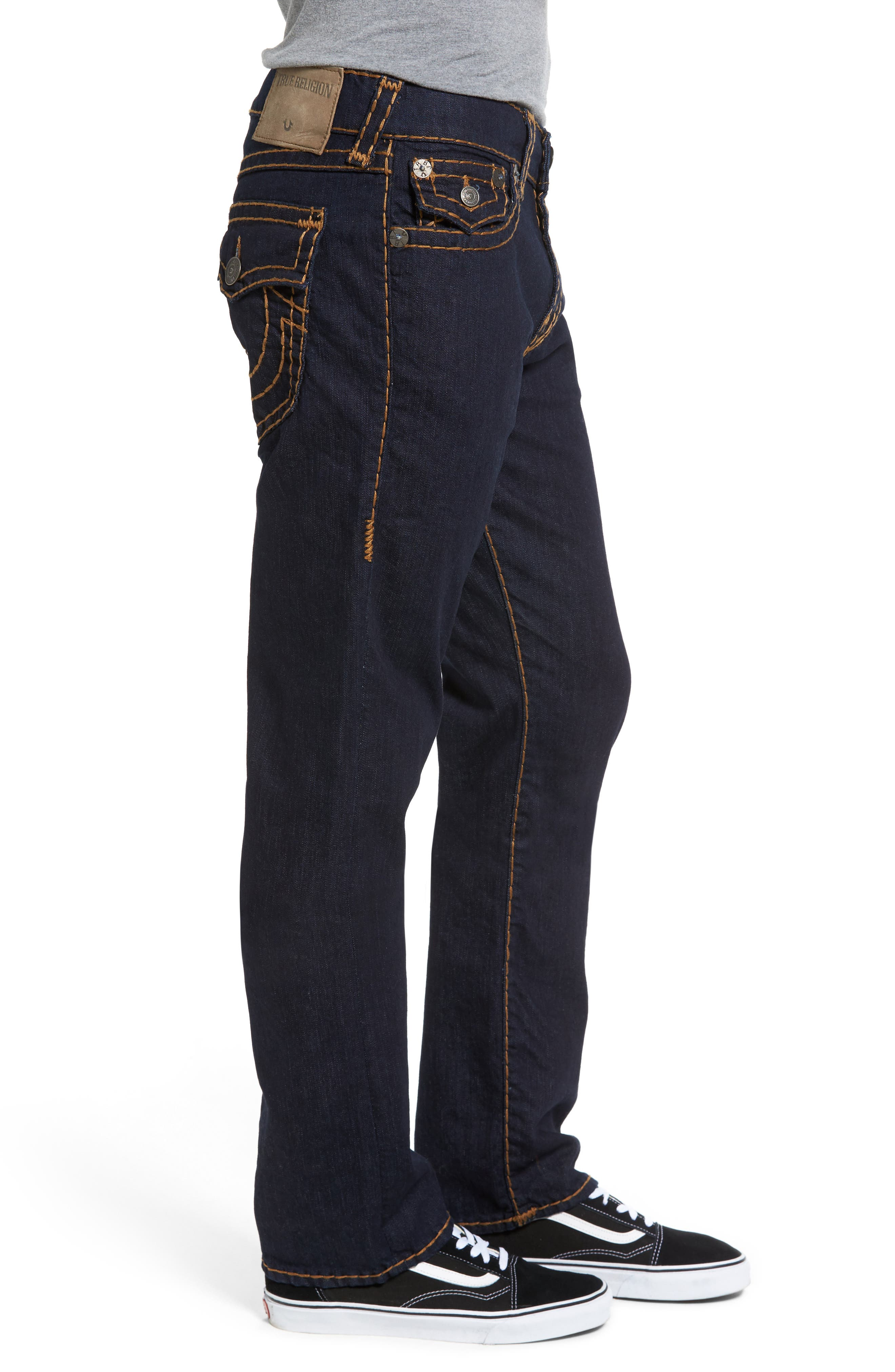 Alternate Image 3  - True Religion Brand Jeans Ricky Relaxed Fit Jeans (Body Rinse)