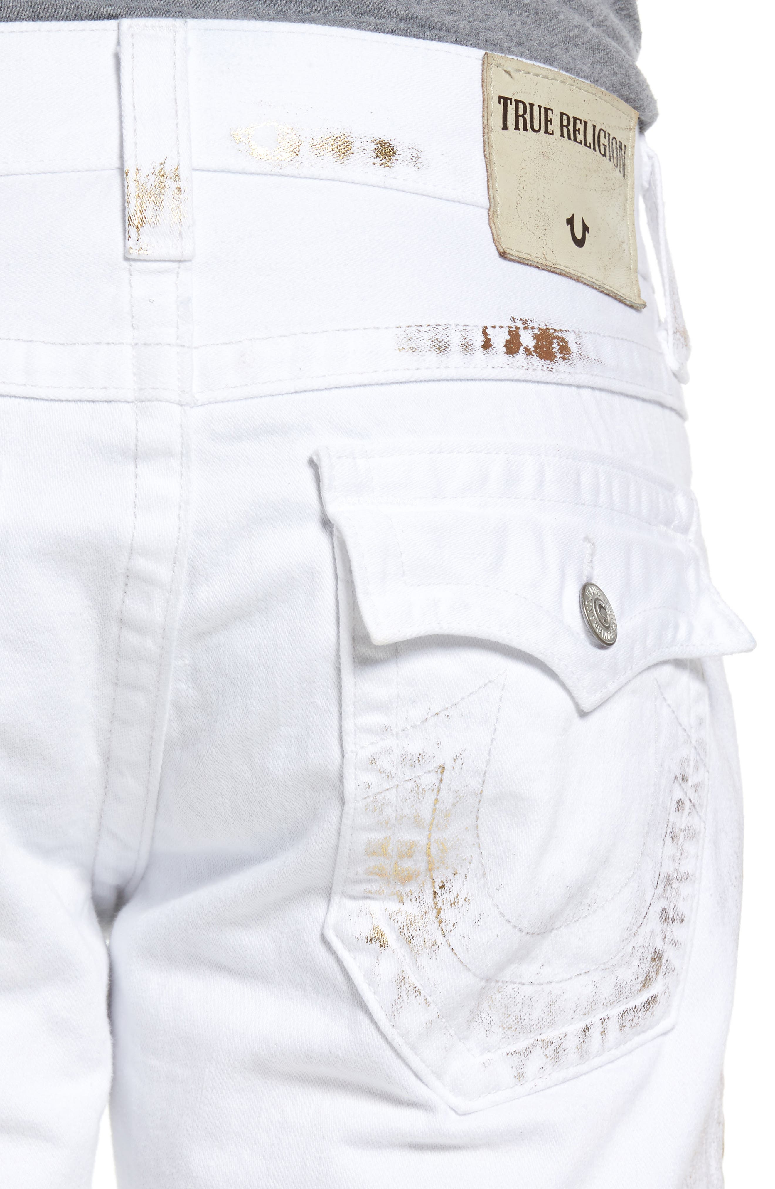 True Religion Brand Jeans Ricky Relaxed Fit Jeans (Optic Gold) With Paypal Cheap Price The Cheapest Online 31Yhz6yh