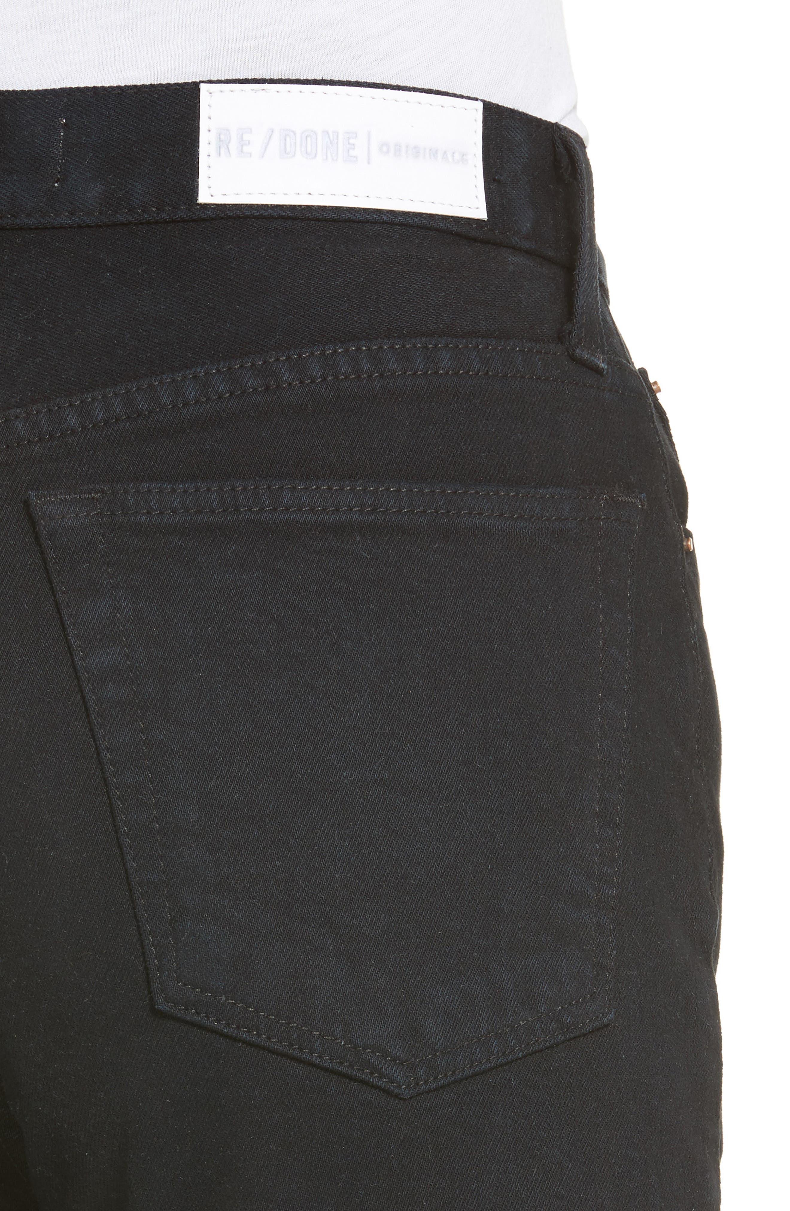 Alternate Image 5  - Re/Done High Waist Crop Jeans