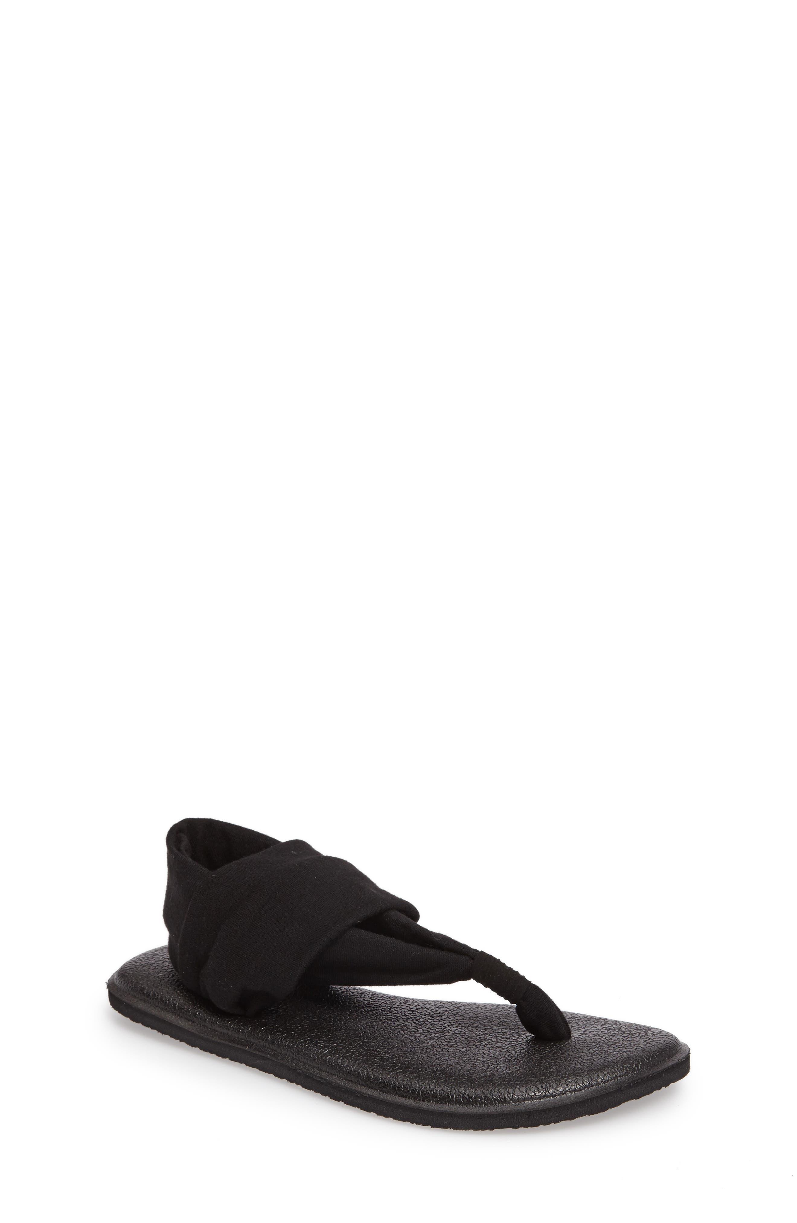 Sanuk 'Yoga Sling Burst' Sandal (Toddler, Little Kid & Big Kid)