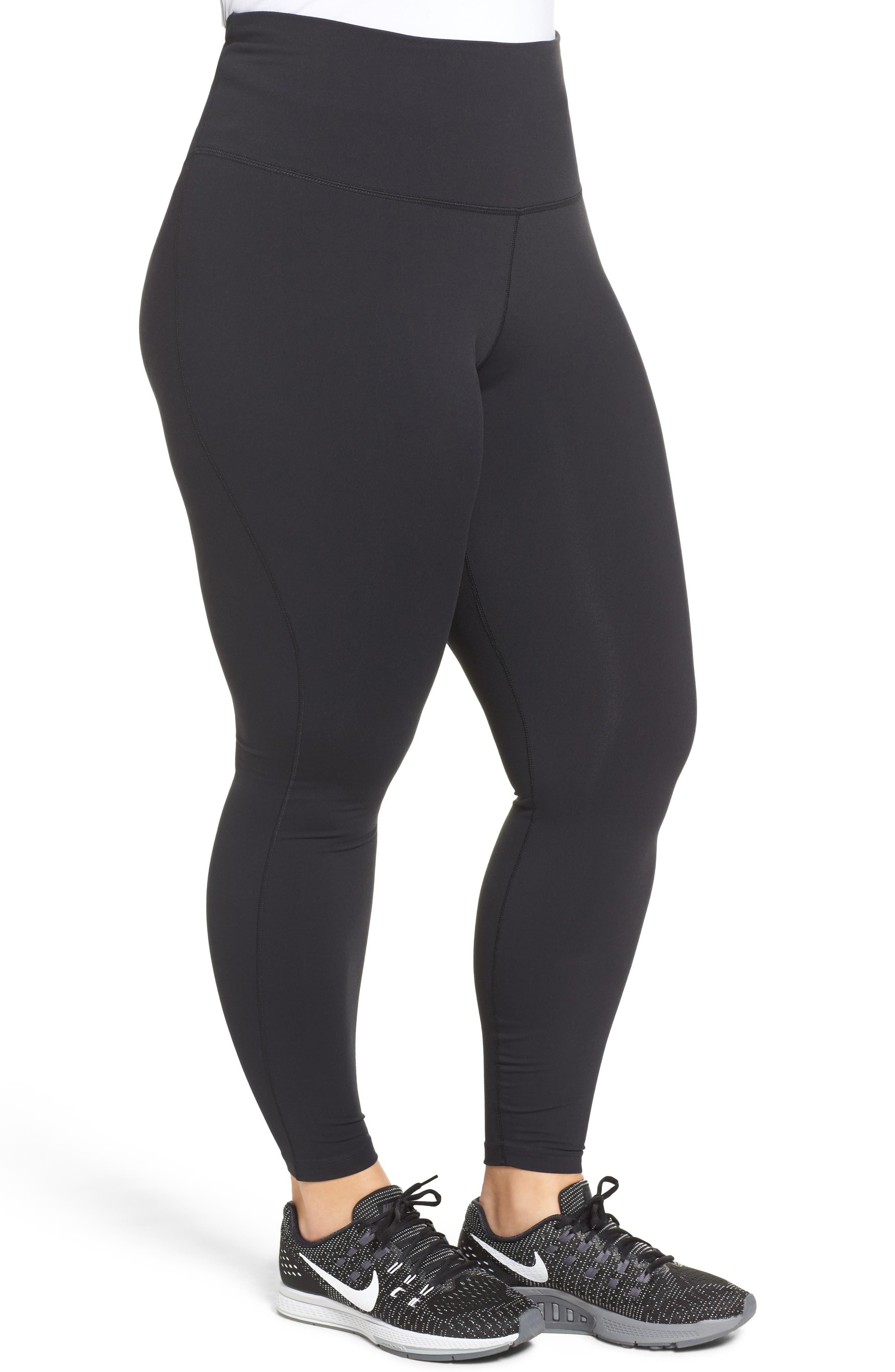 Alternate Image 3  - Nike Power Legendary High Waist Tights (Plus Size)
