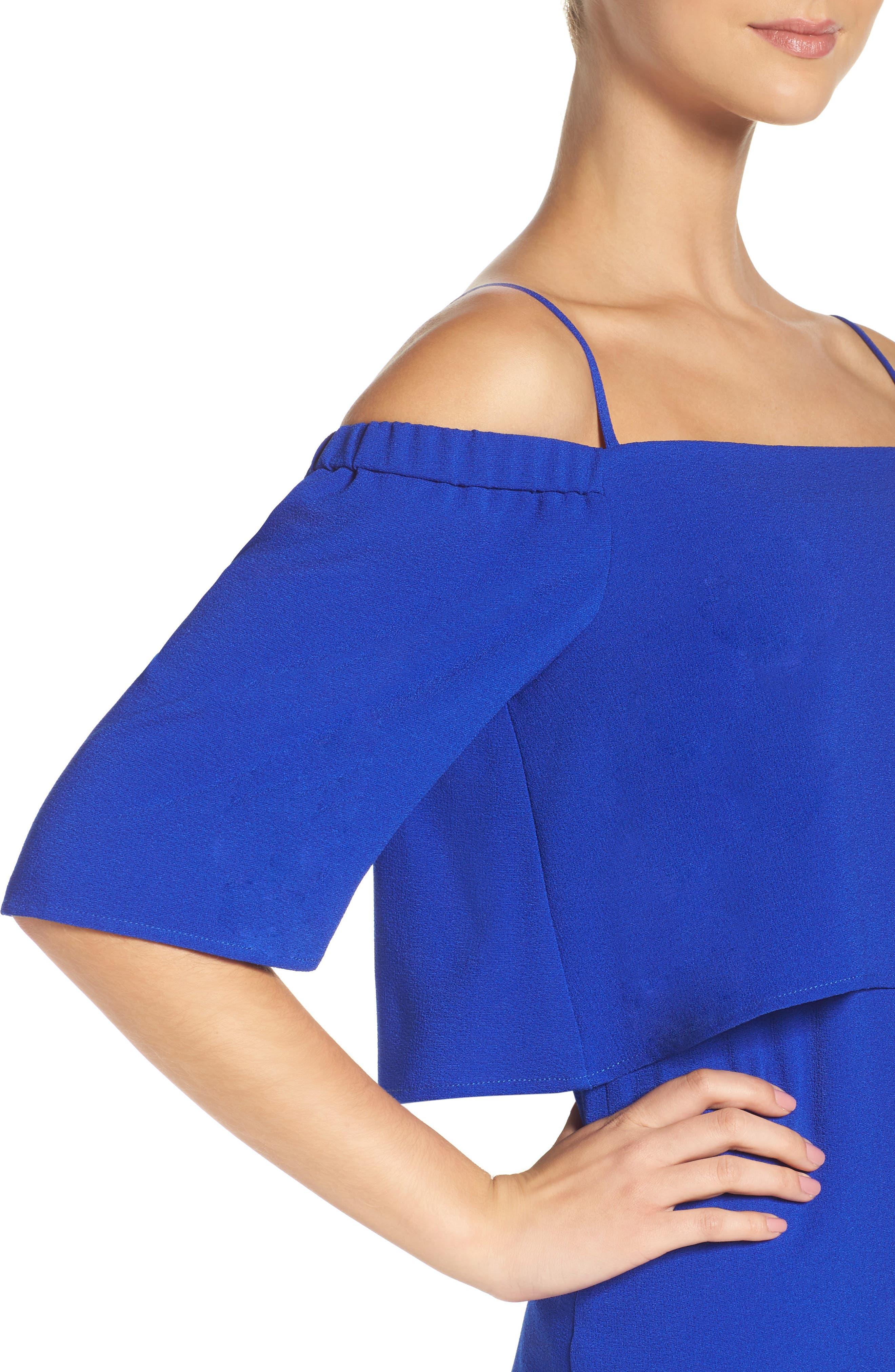 Alternate Image 5  - Charles Henry Popover Midi Dress