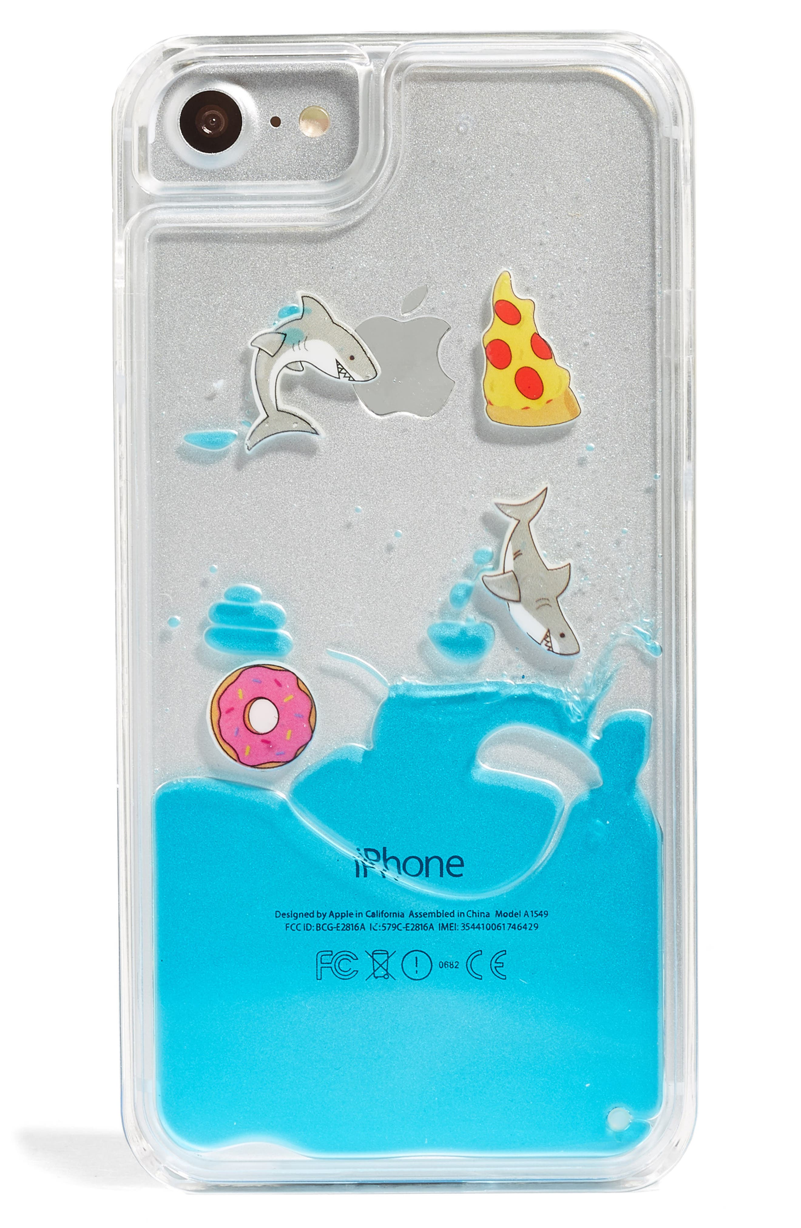 SKINNYDIP Shark Charm iPhone 6/7 & 6/7 Plus Case