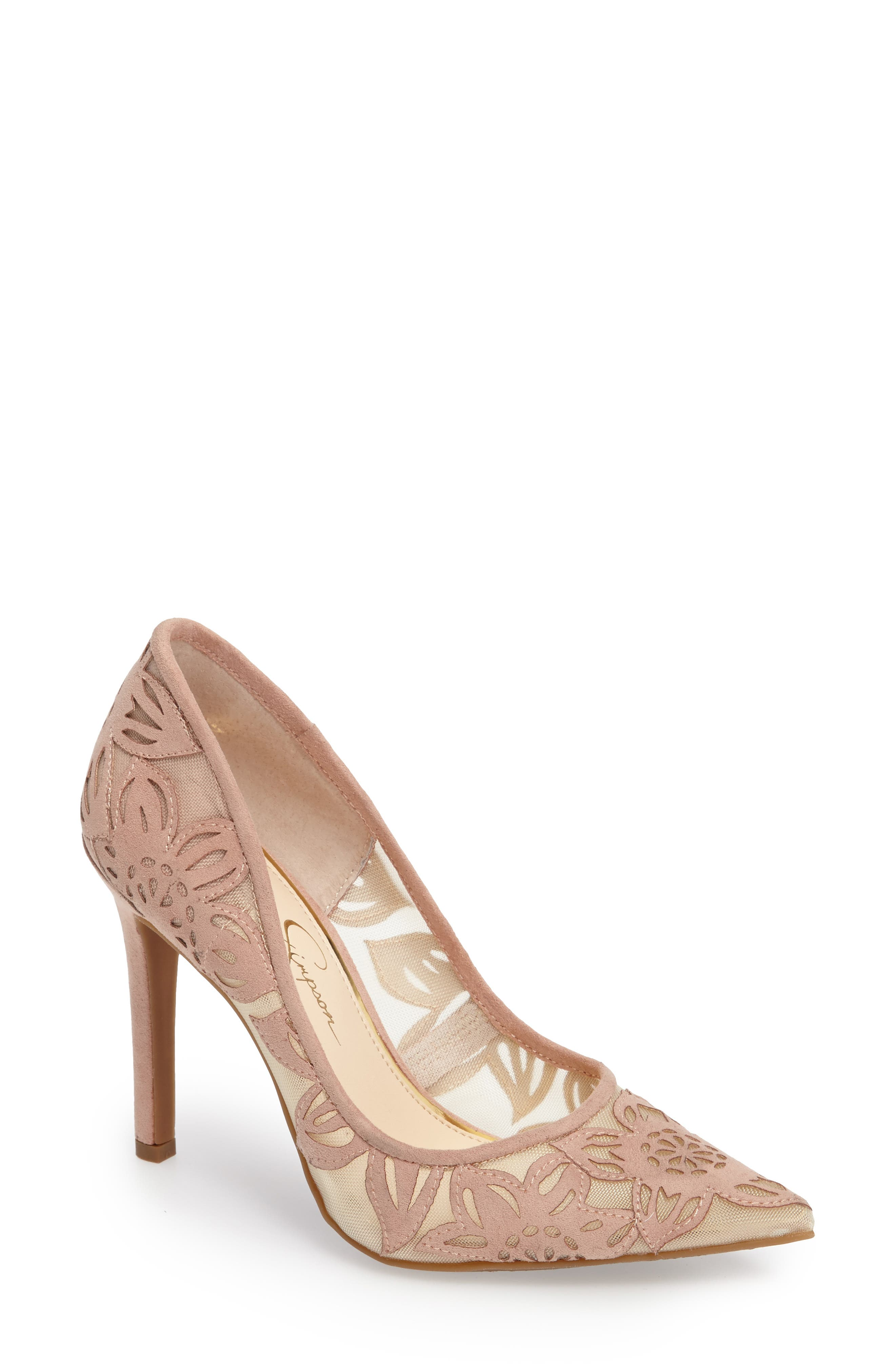 Alternate Image 1 Selected - Jessica Simpson Charese Pointy Toe Pump (Women)