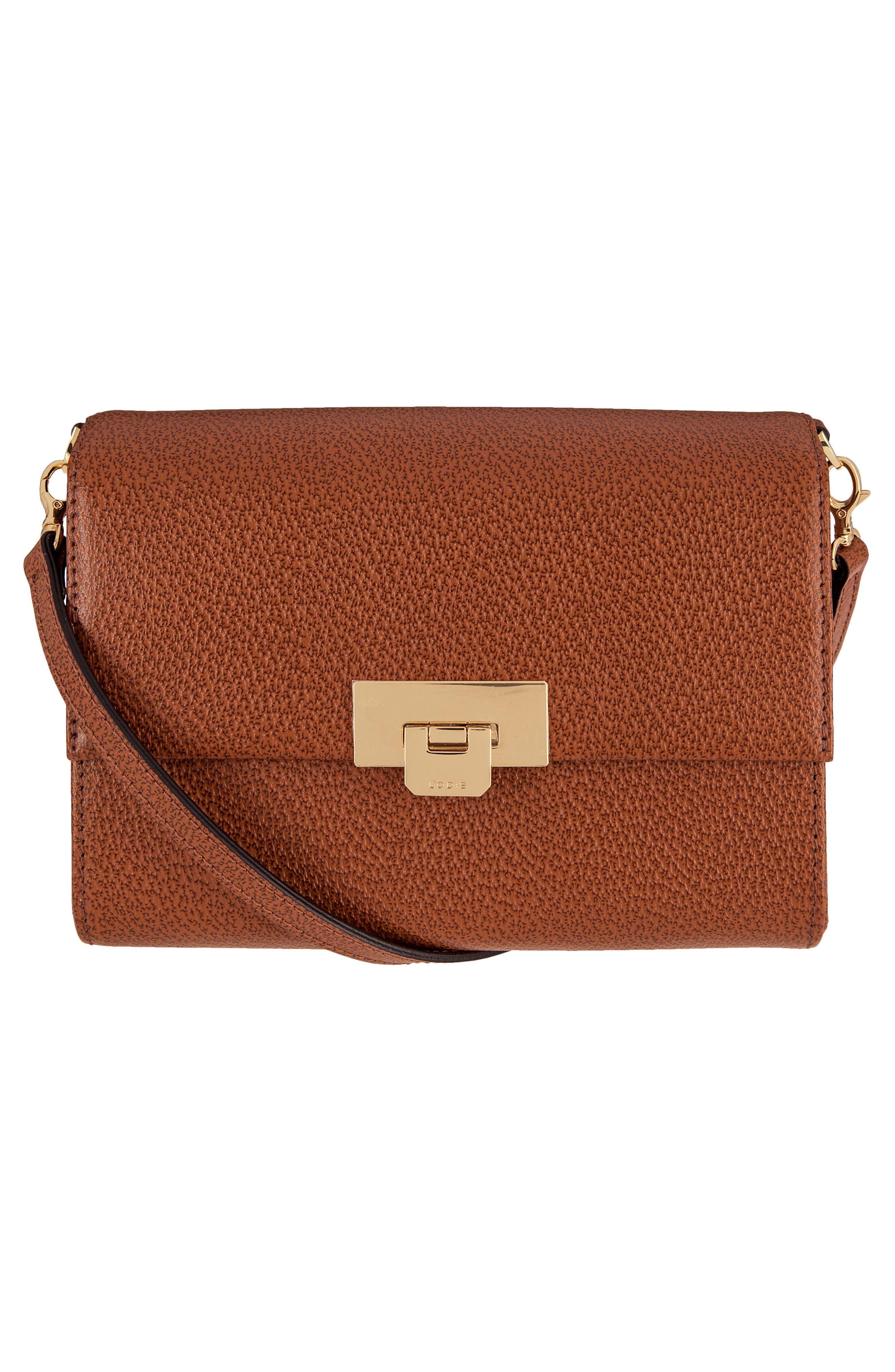 Lodis Small Stephanie Eden Leather Crossbody Bag