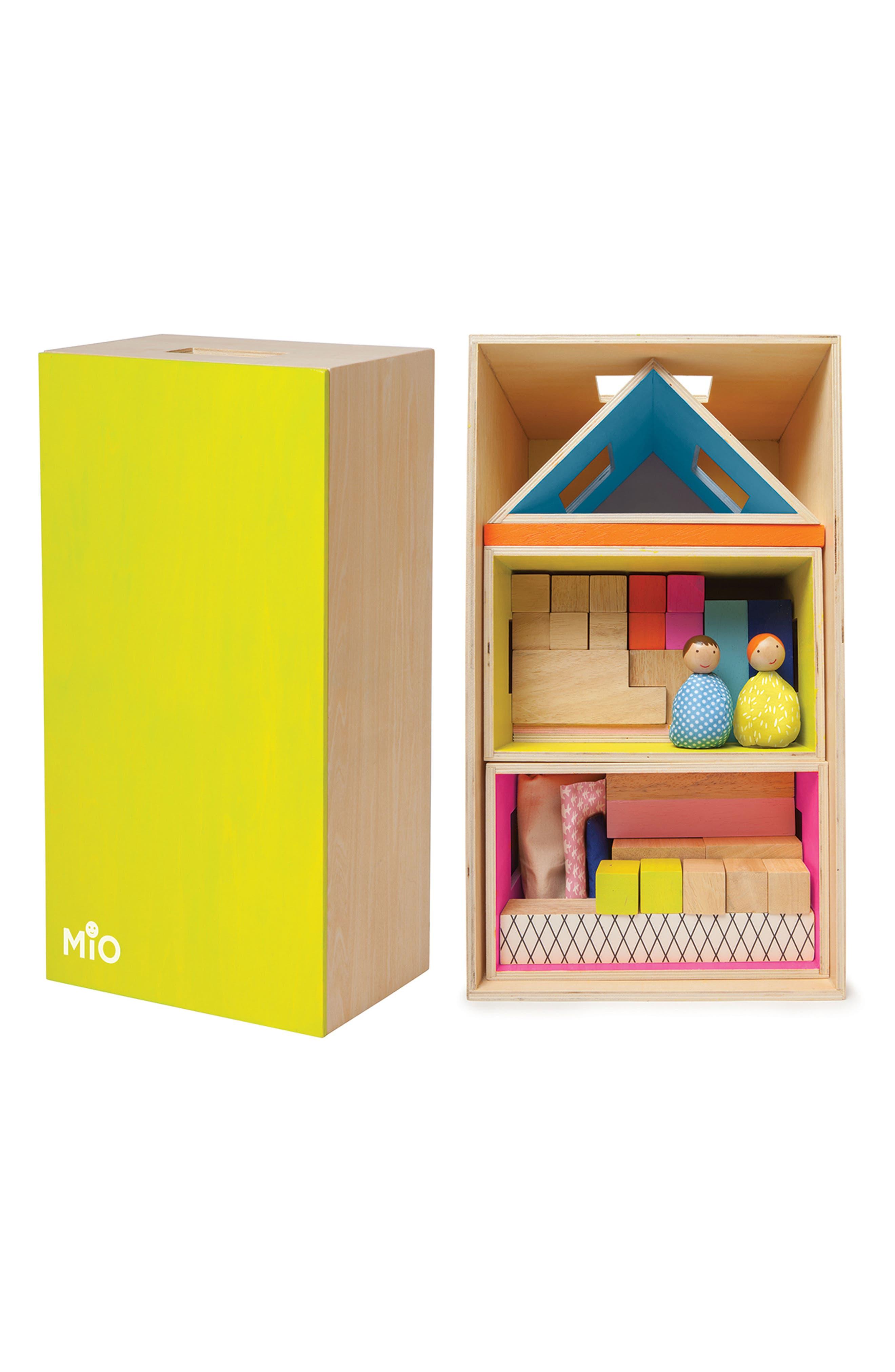 Alternate Image 2  - Manhattan Toy MiO Playing Eating Sleeping Working Blocks