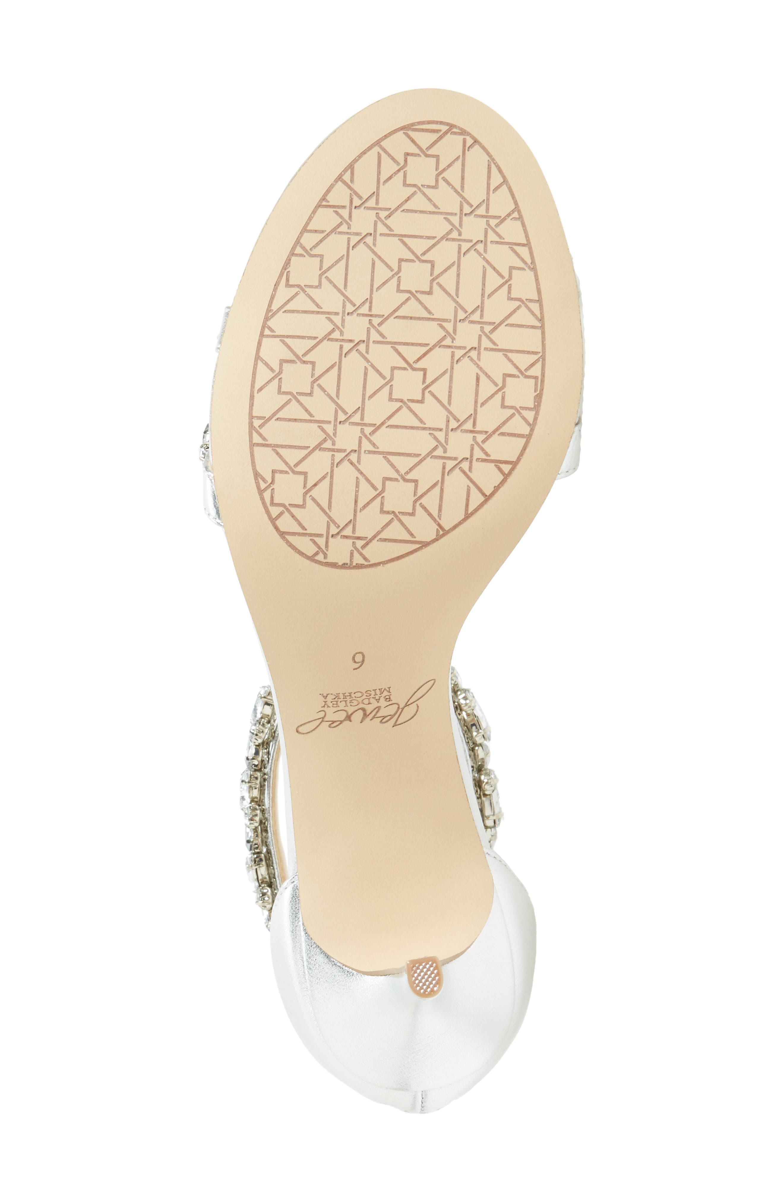 Alternate Image 4  - Jewel Badgley Mischka Caroline Embellished Sandal (Women)