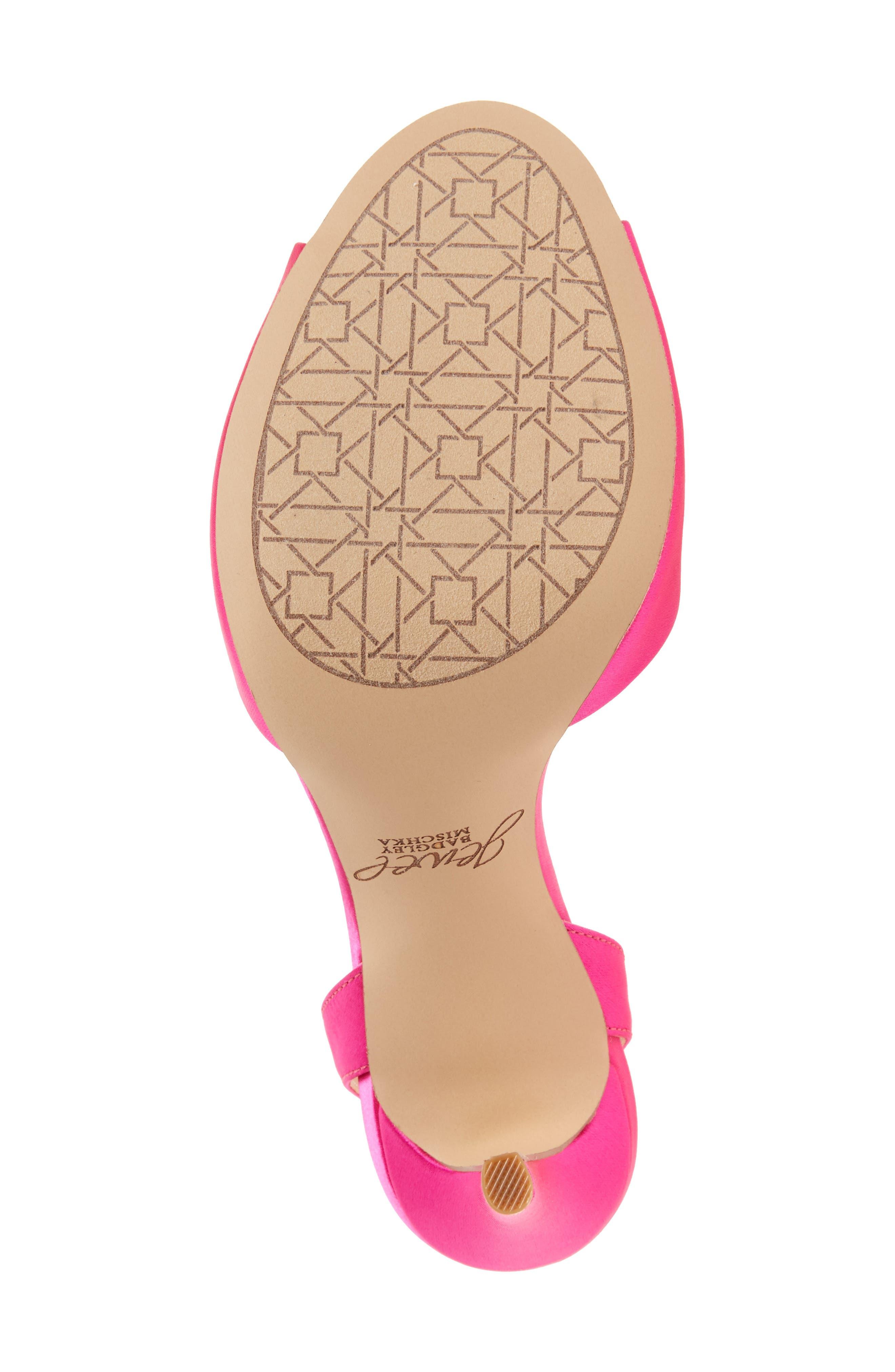 Alternate Image 4  - Jewel Badgley Mischka Hayden Embellished Ankle Strap Sandal (Women)