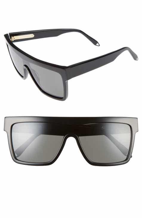 ebb0e47d327 Victoria Beckham 57mm Flat Top Sunglasses