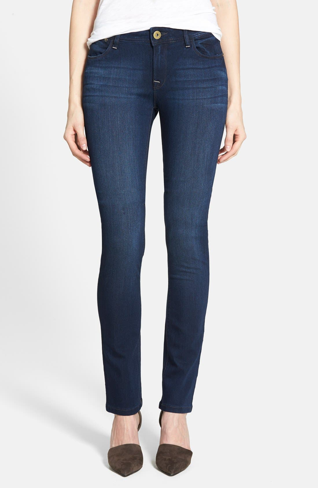 Main Image - DL1961 'Grace' Straight Jeans (Moscow)